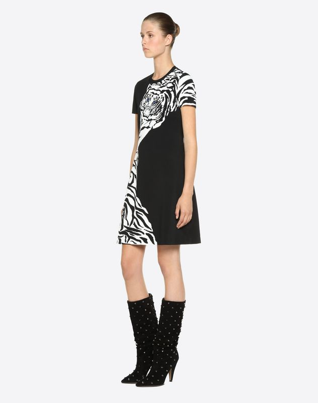 Tiger Re-edition Jacquard Dress