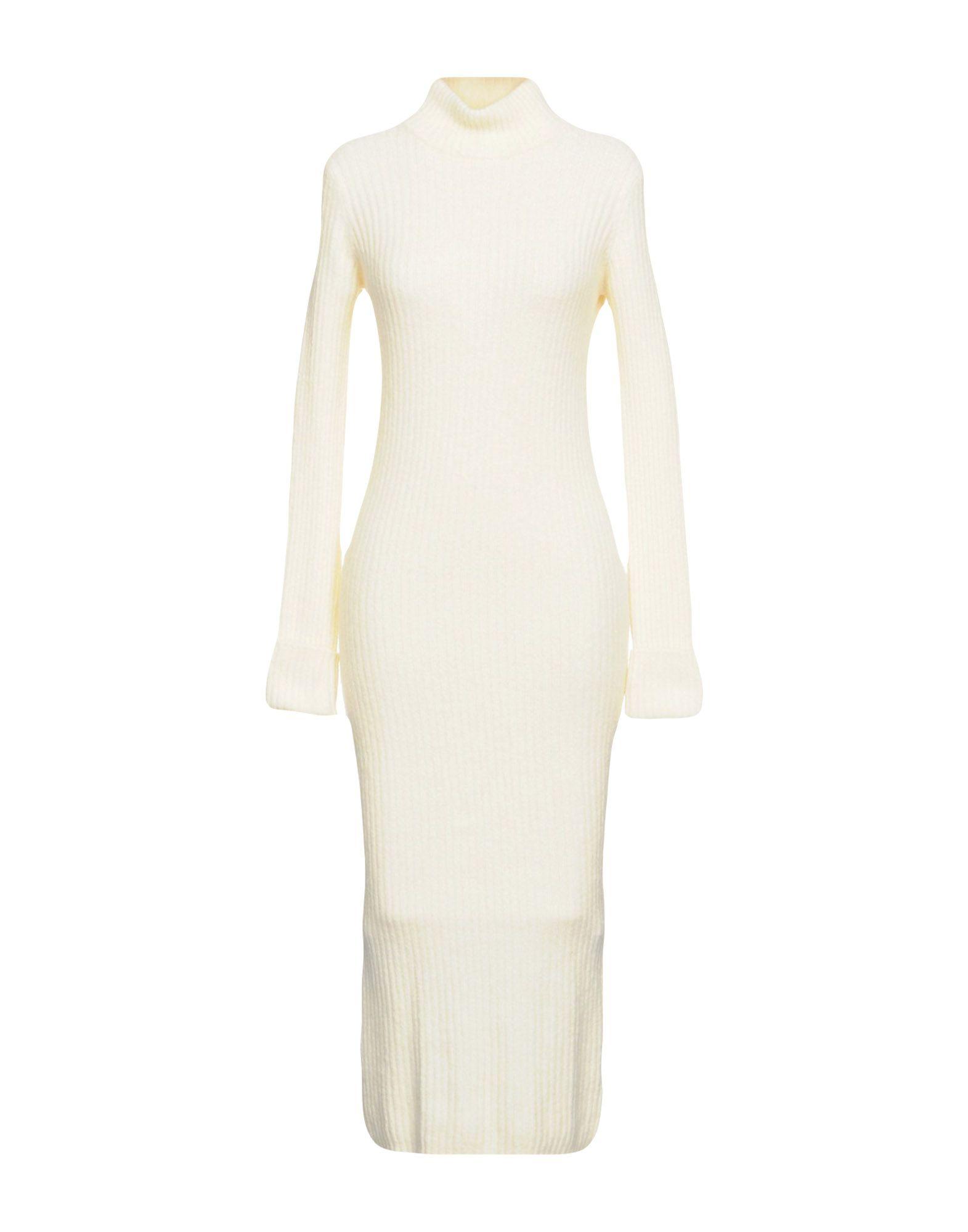 GANNI Платье длиной 3/4 ganni serra платье женское