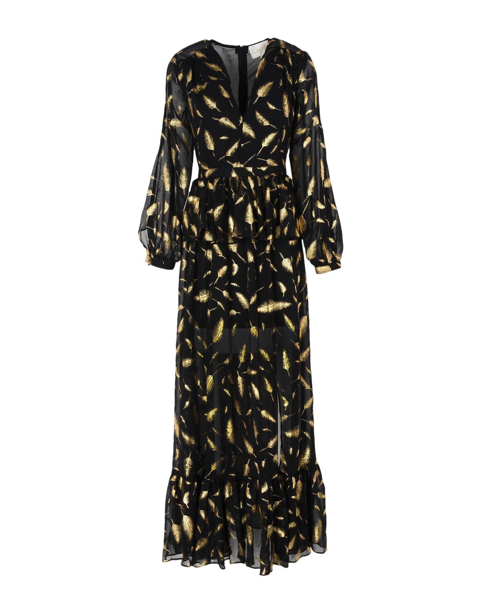 L'ATELIER de La Mode by PATRICIA FORGEAL Длинное платье l atelier de la mode by patricia forgeal короткое платье