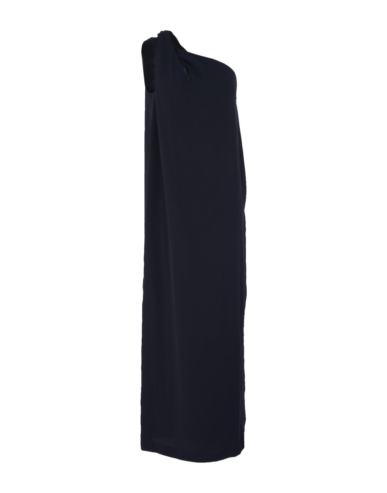 IRIS & INK Длинное платье 923 зима полный дрель бархат вечернее платье длинное плечо банкет тост одежды тонкий тонкий хост