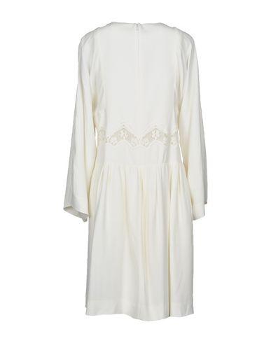 Фото 2 - Женское короткое платье CHLOÉ белого цвета