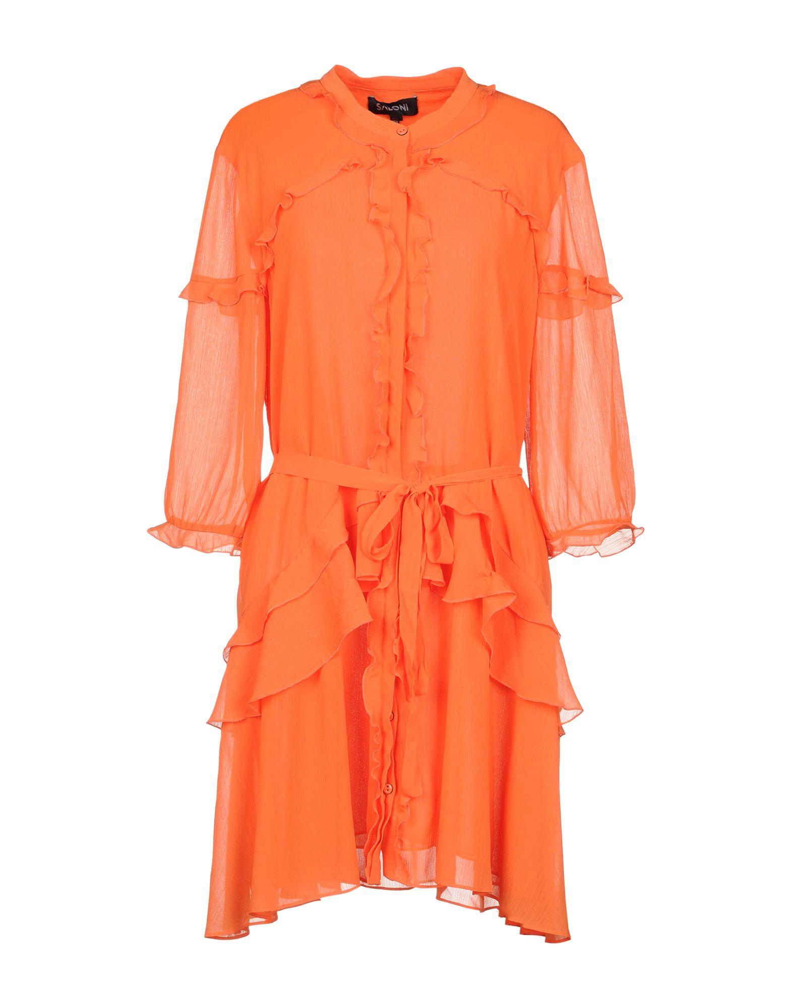 SALONI Короткое платье achillea короткое платье