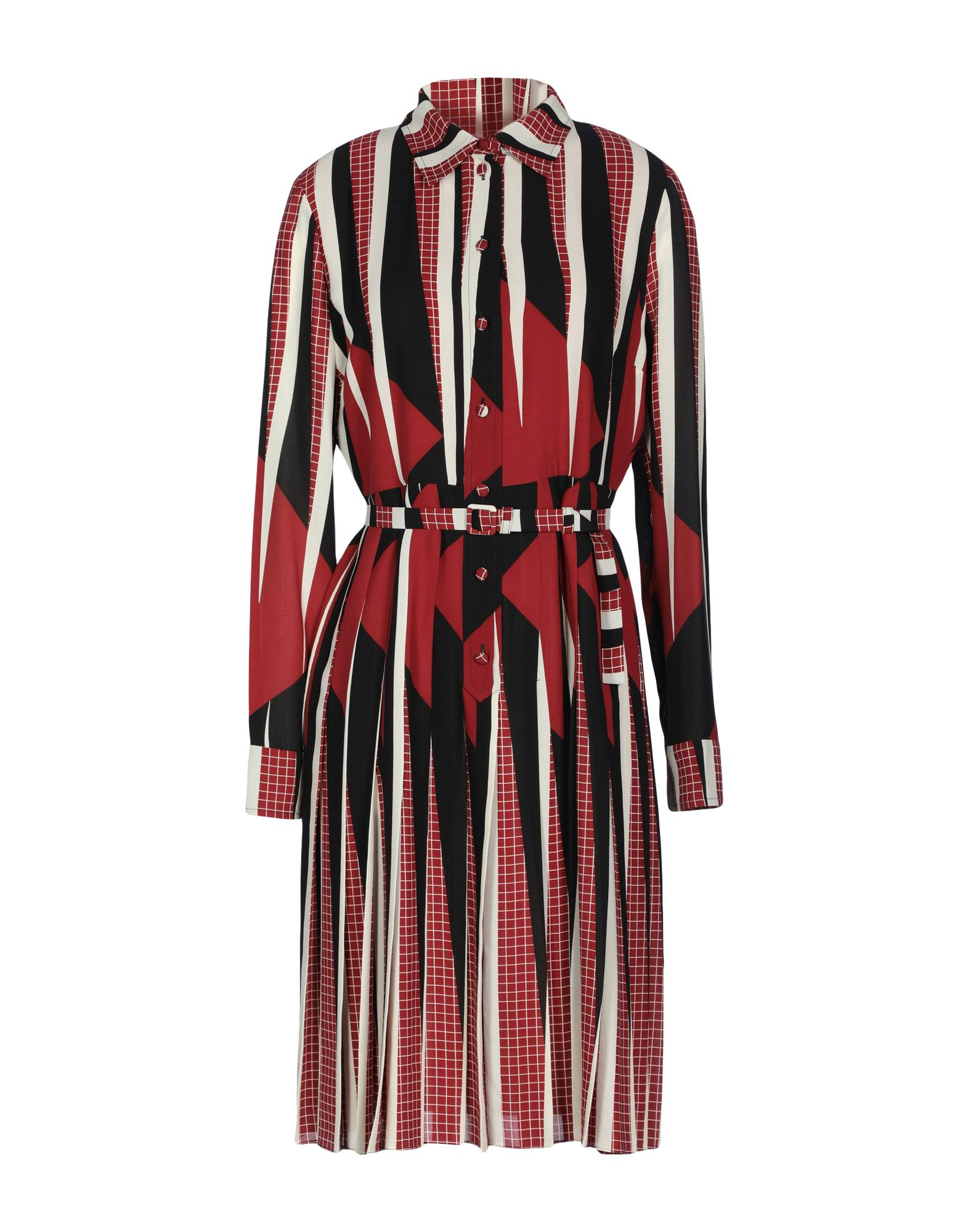 GUCCI Платье до колена платье рубашка fox yulia sway платье рубашка fox