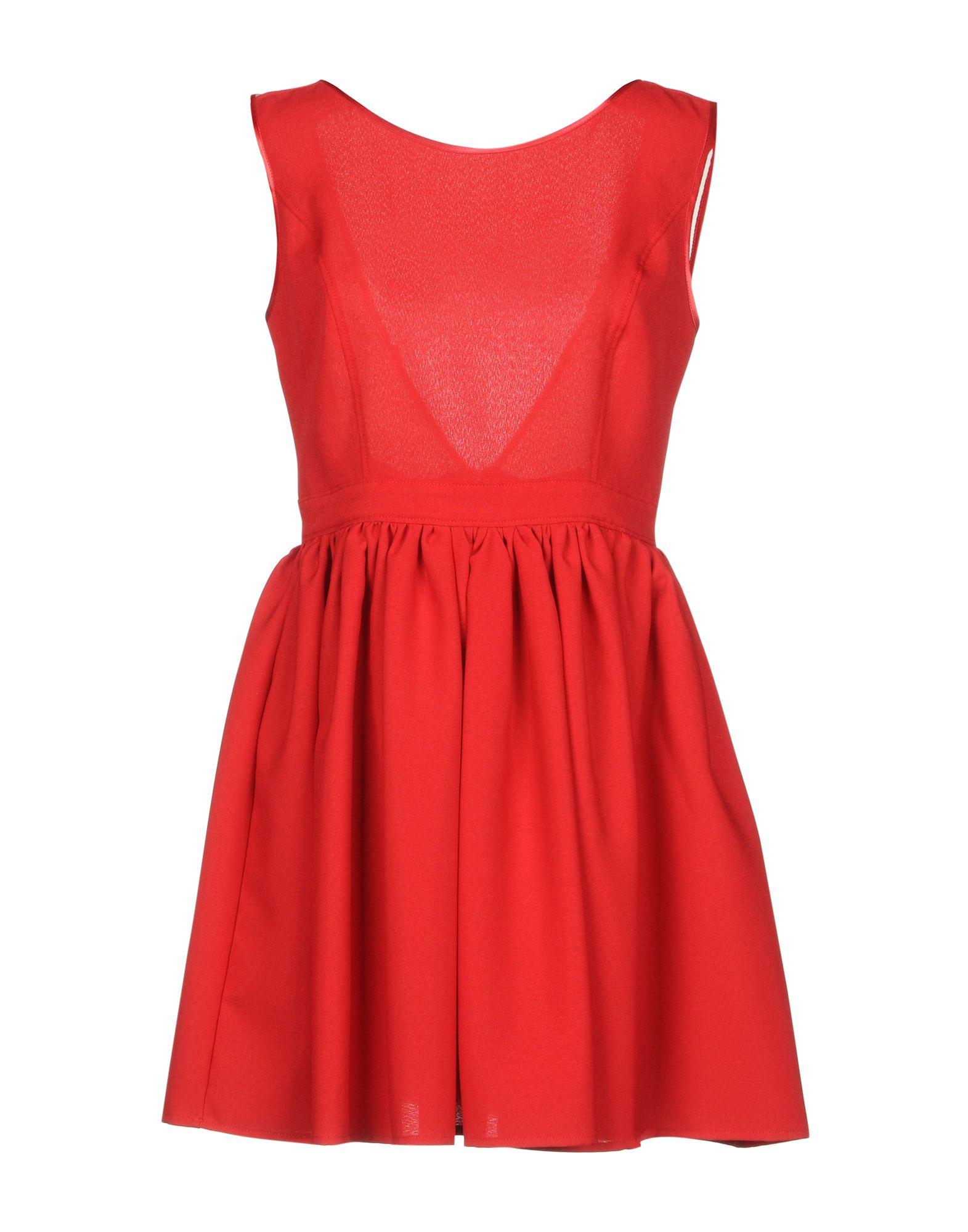 FRANCESCA & VERONICA FELEPPA Короткое платье цены онлайн