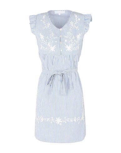 Фото - Женское короткое платье DESIGNERS SOCIETY небесно-голубого цвета