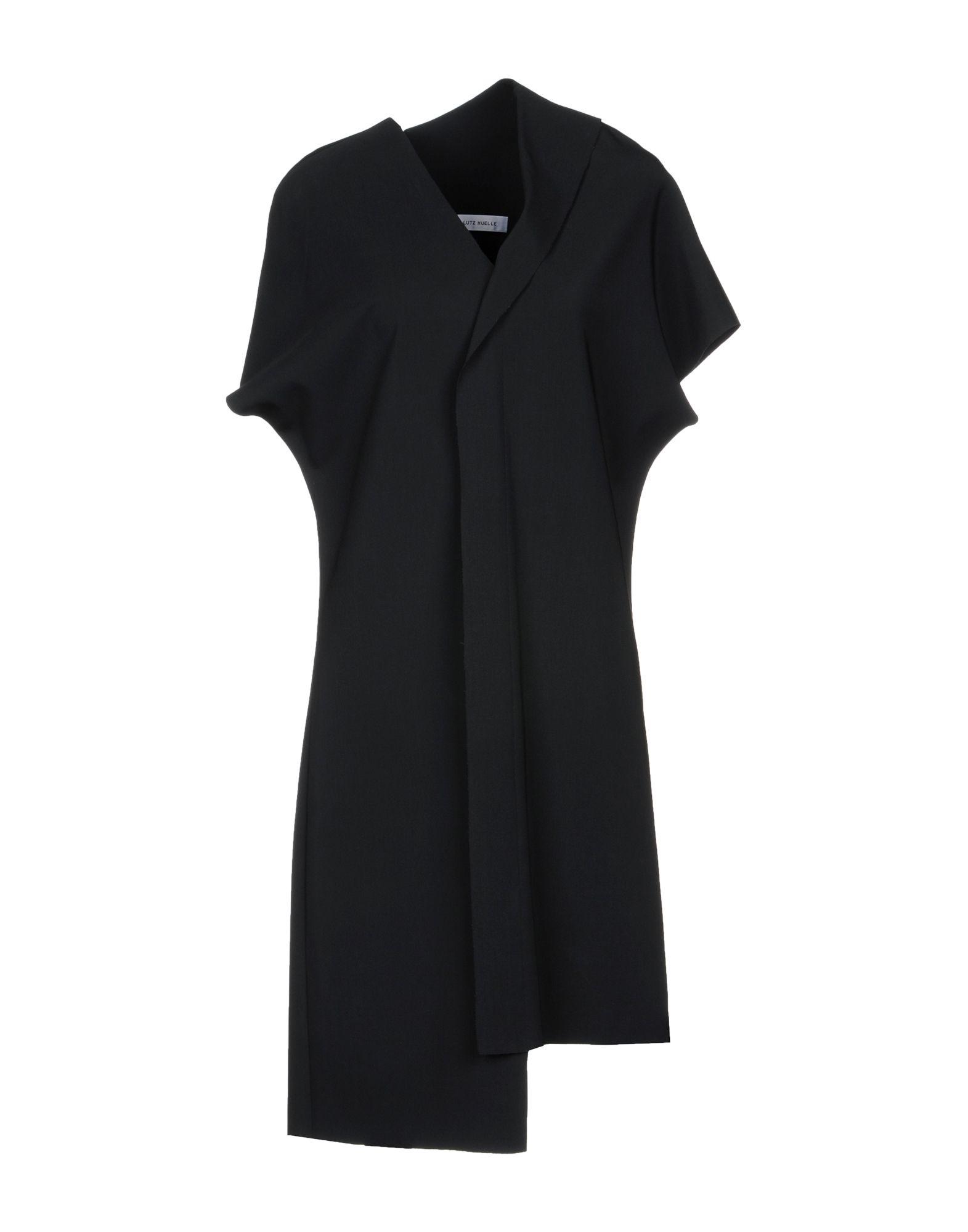 LUTZ HUELLE Knee-Length Dress in Black
