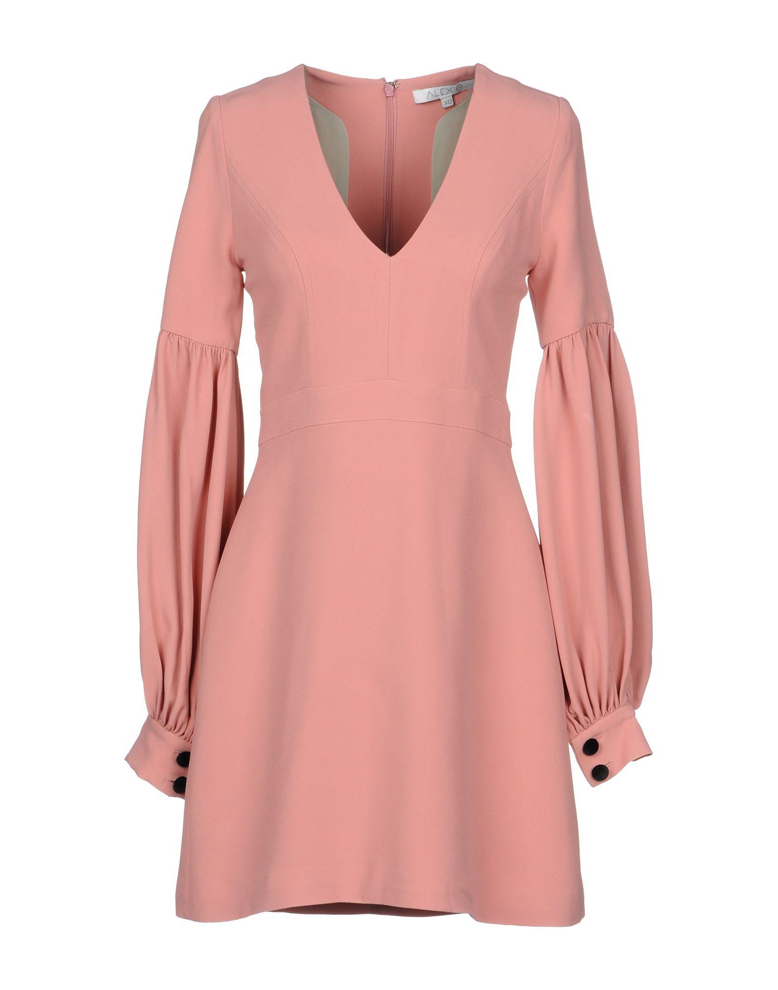 ALEXIS Короткое платье air wick pure освежитель воздуха 5 эфирных масел с ароматом цветущего лимона 250 мл