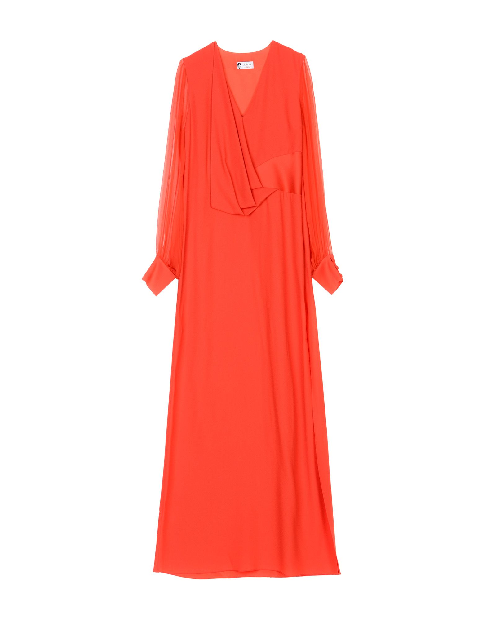 цена на LANVIN Длинное платье