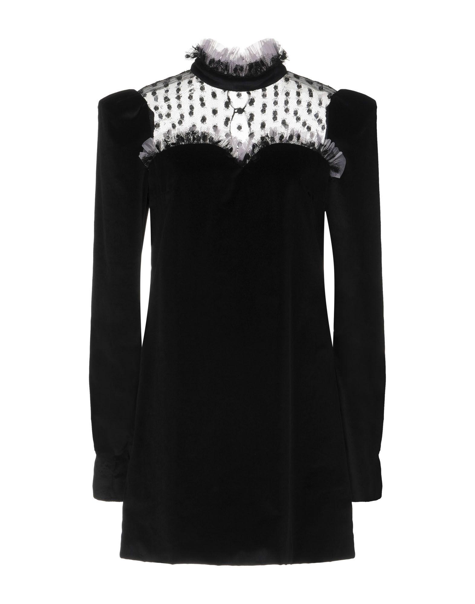 DANIELE CARLOTTA Short Dress in Black