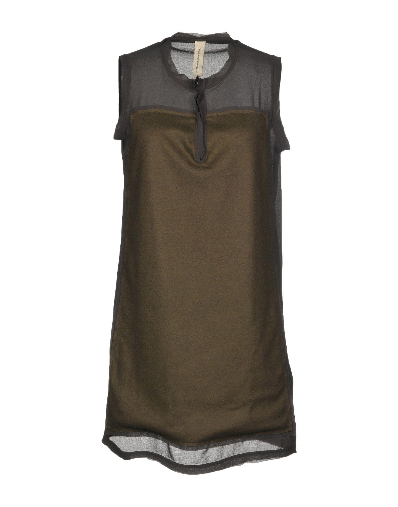 COAST WEBER & AHAUS Короткое платье ivory coast