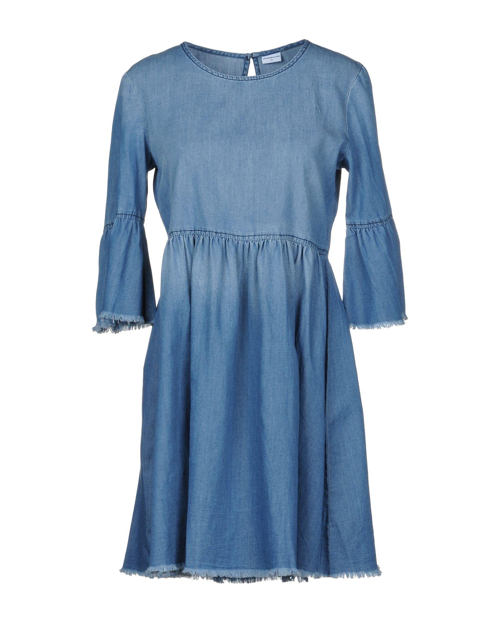 JACQUELINE de YONG Короткое платье блуза jacqueline de yong jacqueline de yong ja908ewxpi99