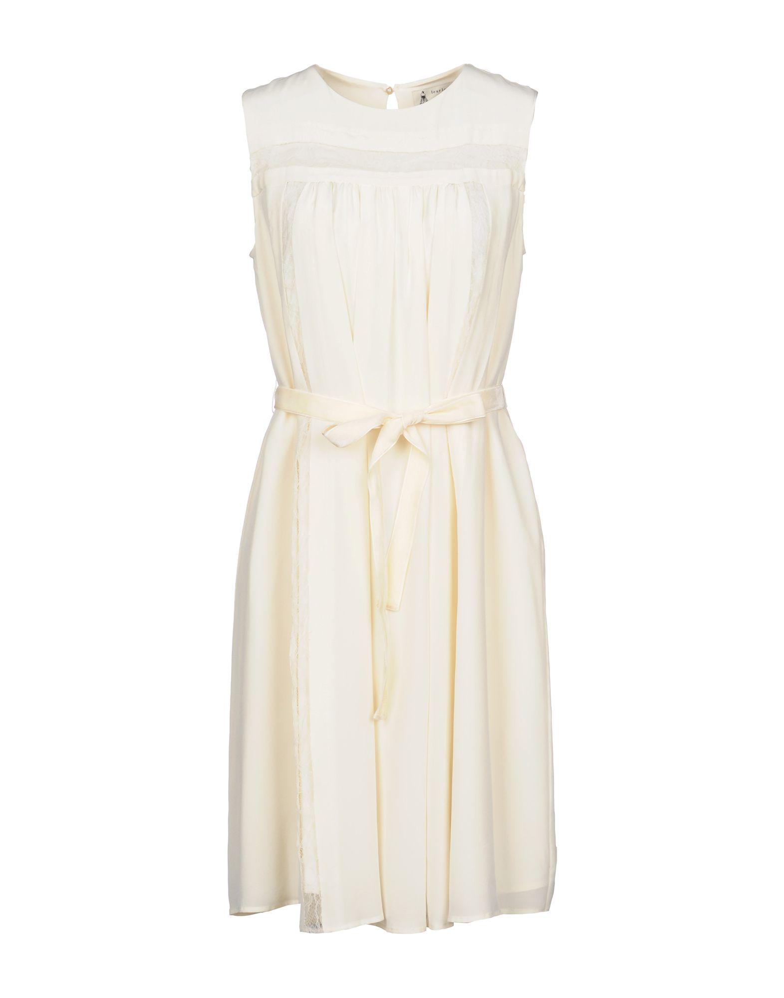 LEUR LOGETTE Short Dress in Ivory