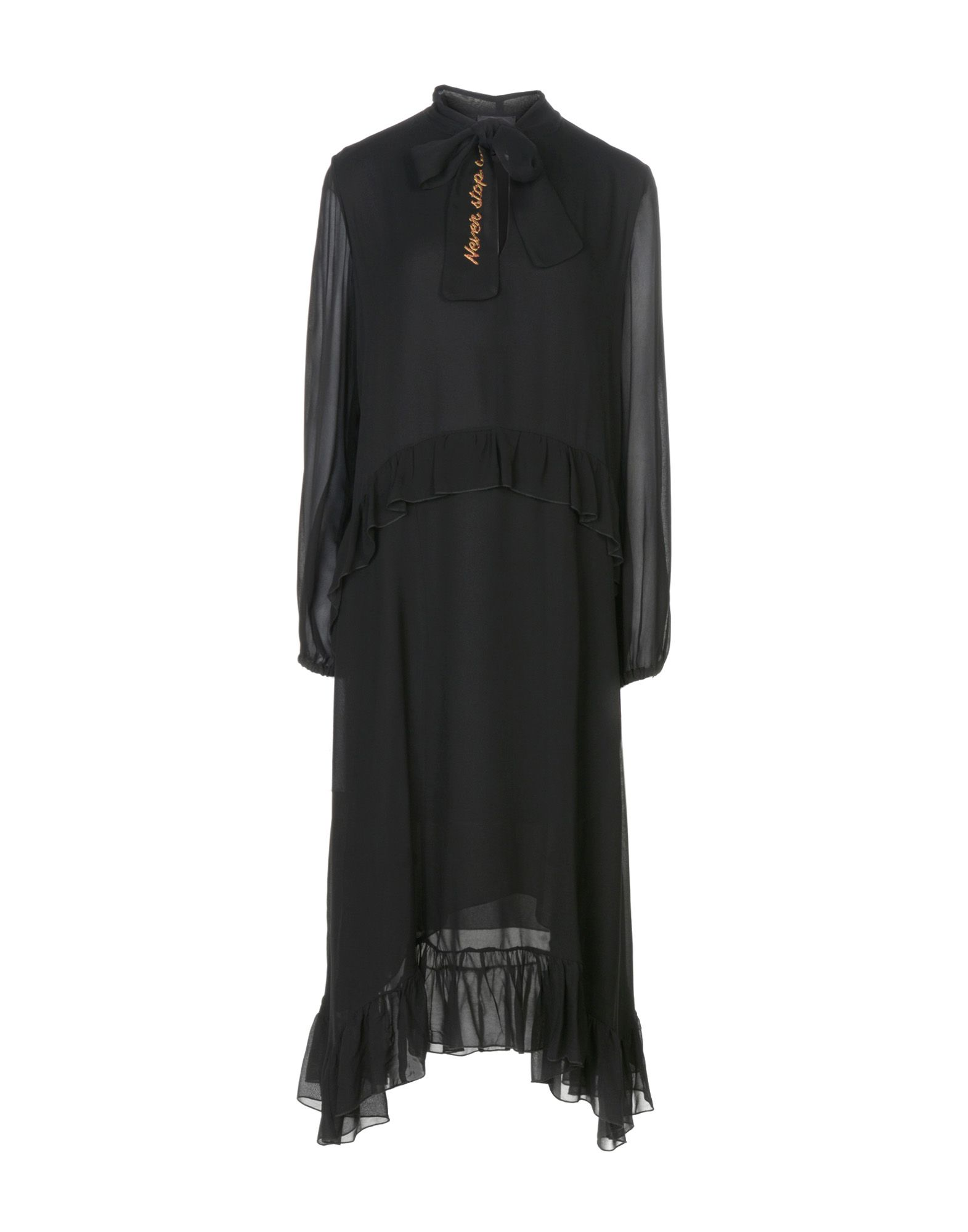 OTTOD'AME Платье длиной 3/4 lisa corti платье длиной 3 4