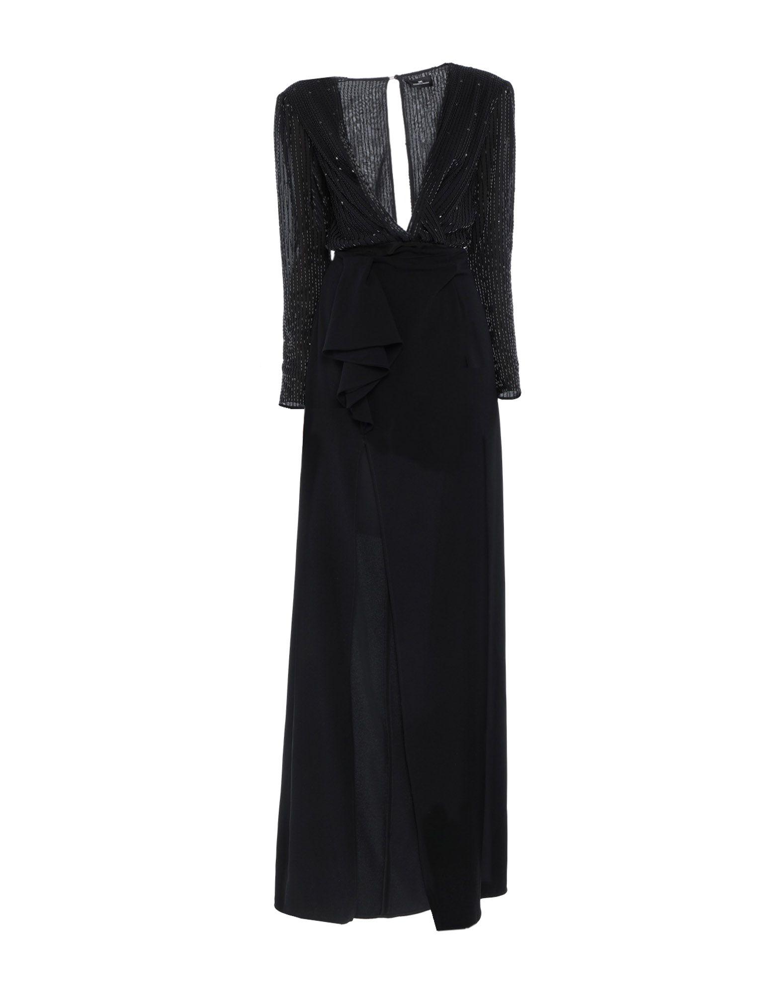 ELISABETTA FRANCHI Длинное платье