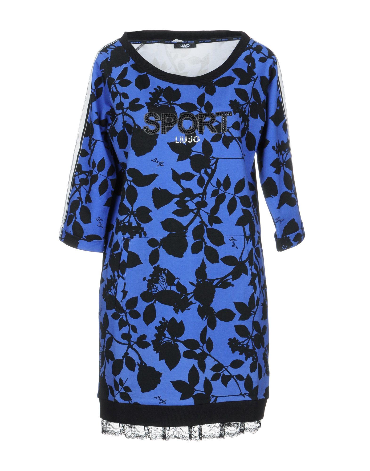 LIU •JO SPORT Короткое платье платье liu jo f18084f0618 22222