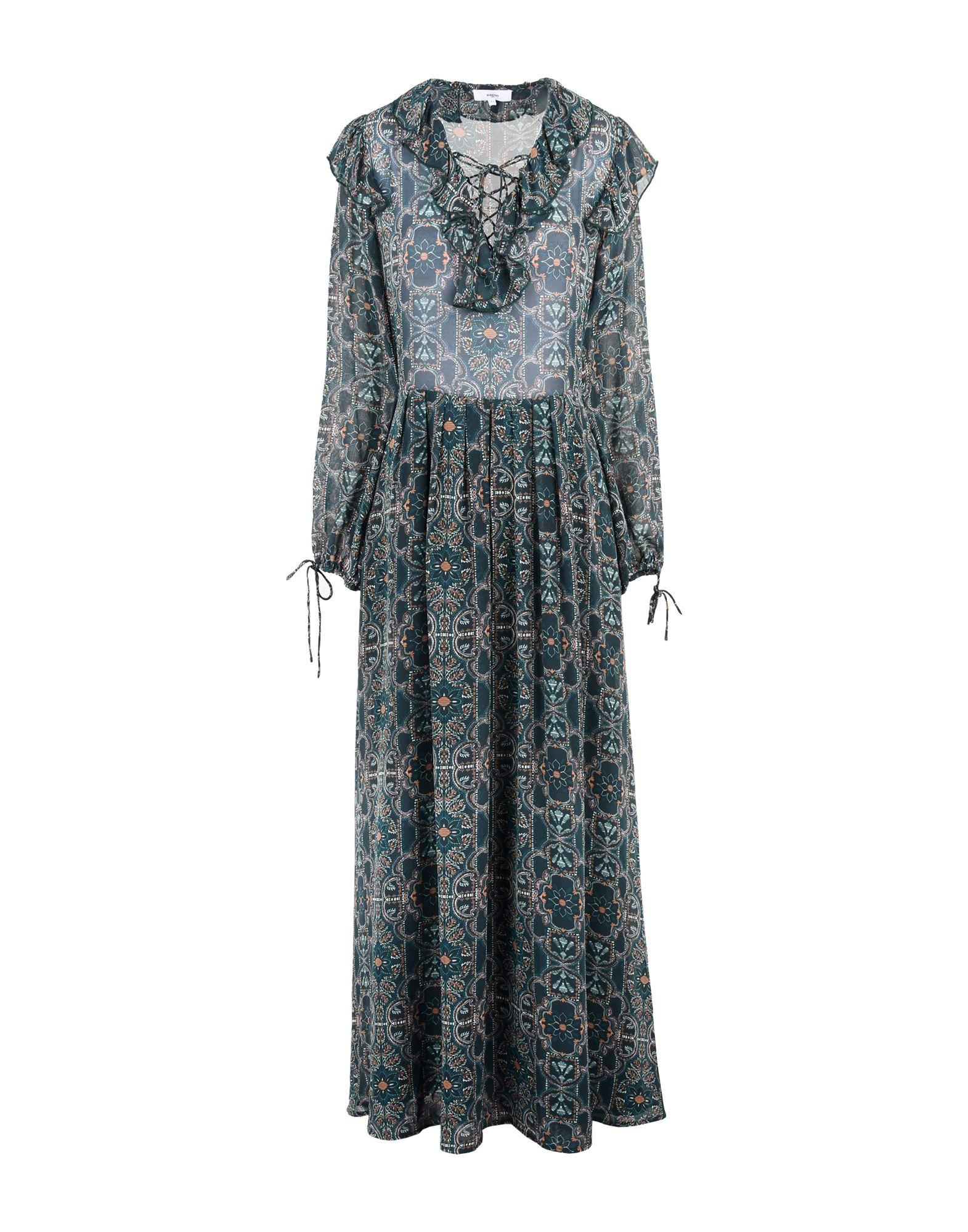 SUNCOO Длинное платье
