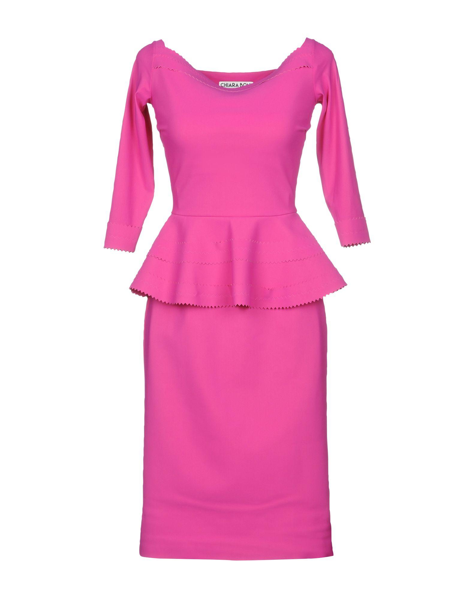 4110f3eabbf Chiara Boni La Petite Robe Knee-Length Dress In Fuchsia