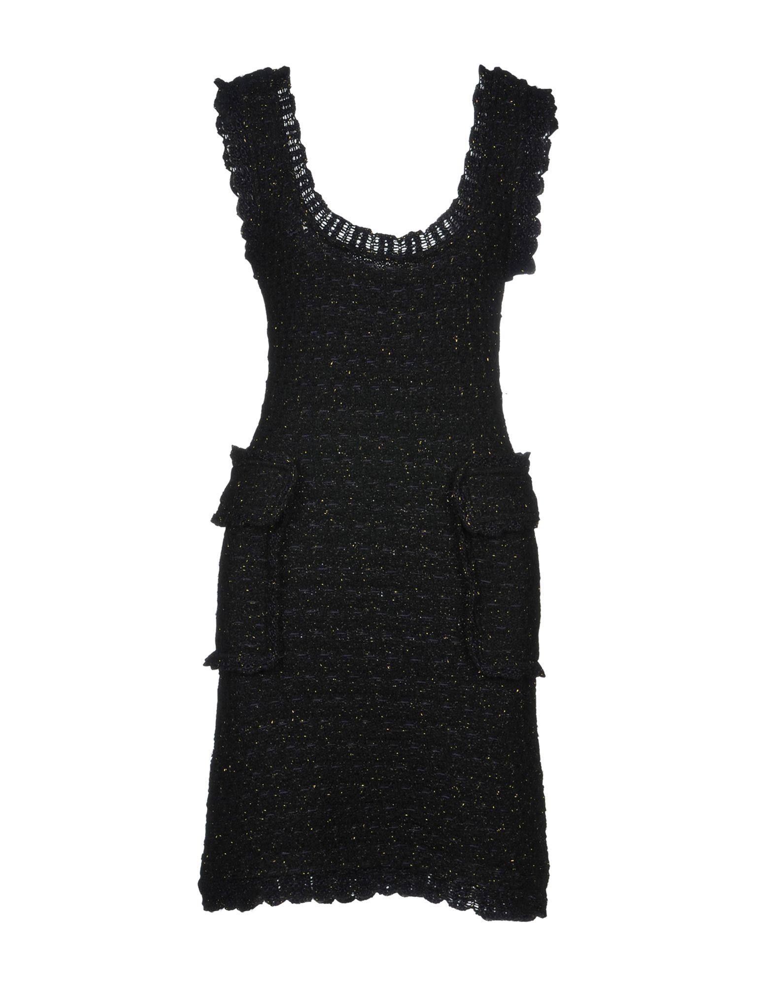 SIBLING Short Dress in Black