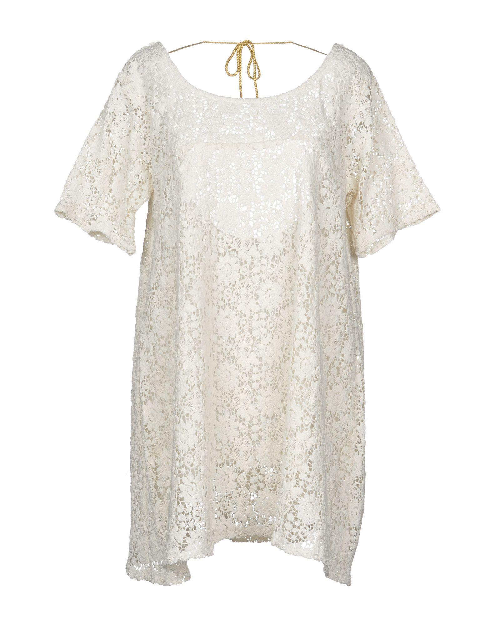 SUNDRESS Short Dress in Ivory