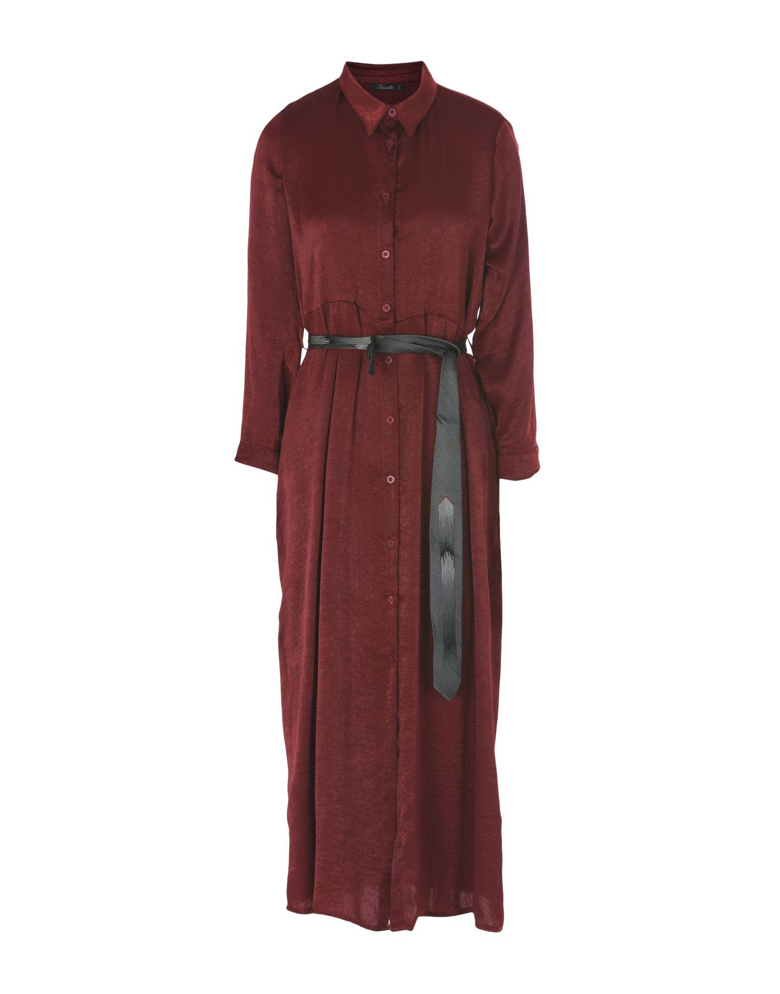 SUERTE Платье длиной 3/4 topshop платье длиной 3 4