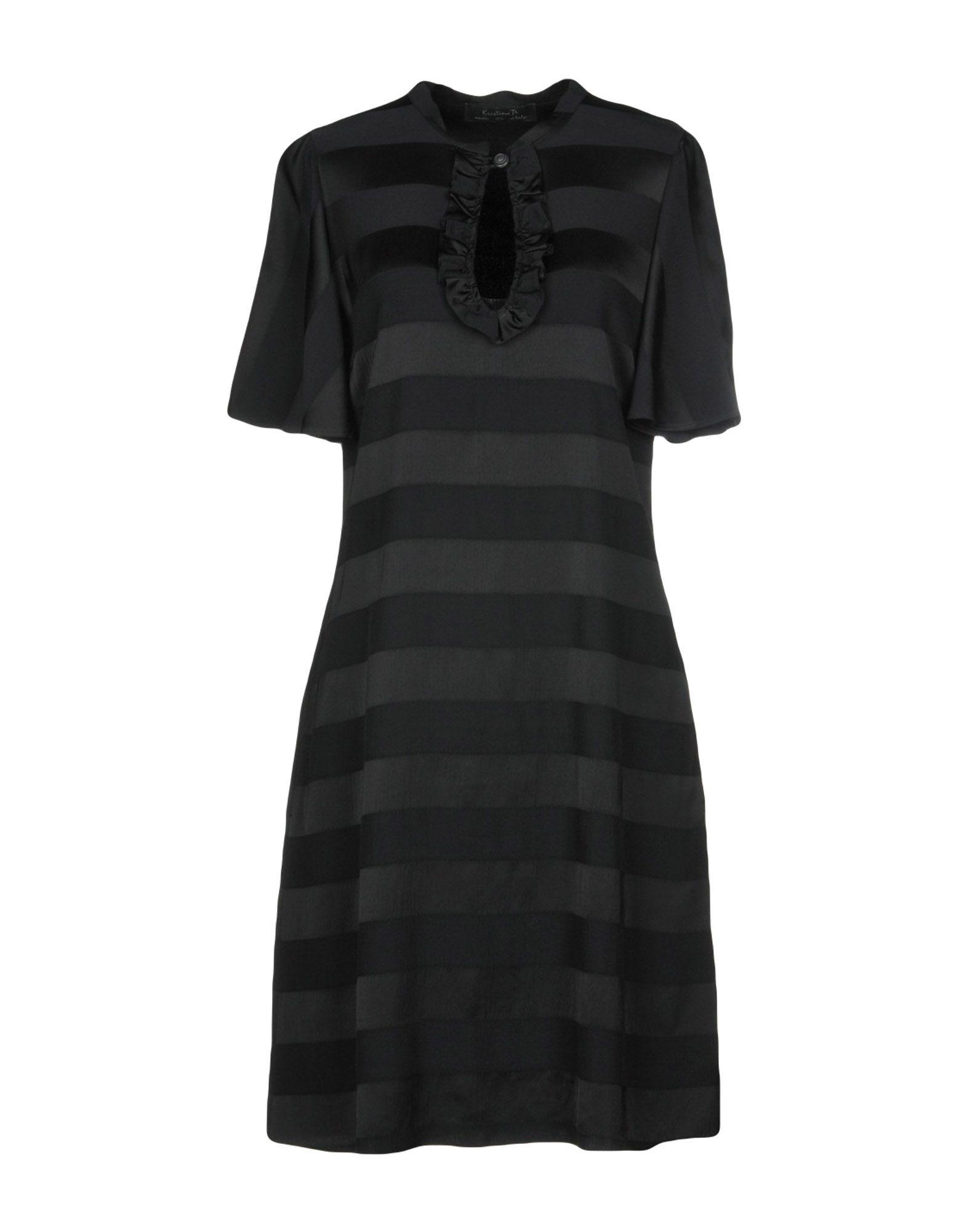 KRISTINA TI Платье до колена цена 2017