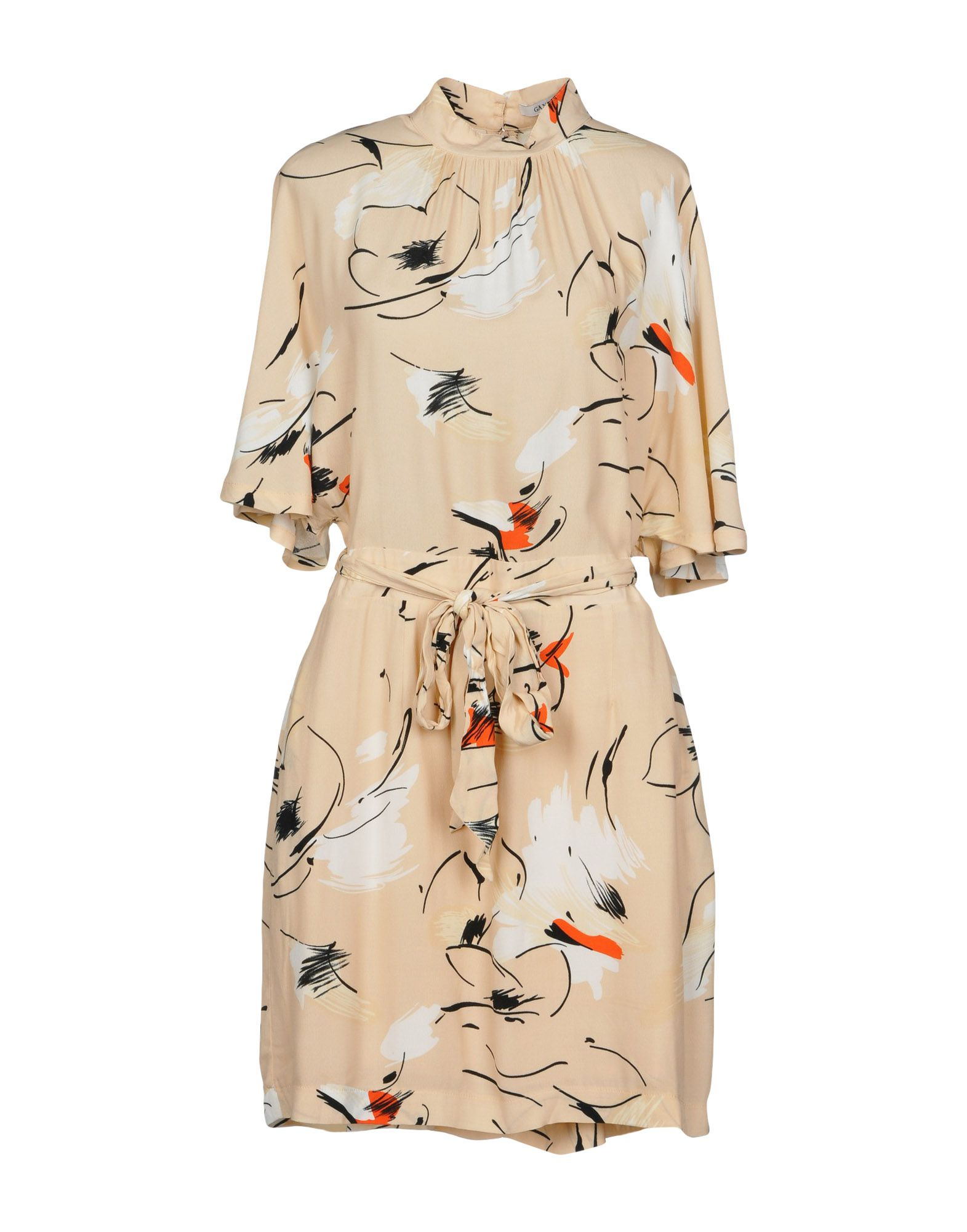 GANNI Короткое платье ganni serra платье женское