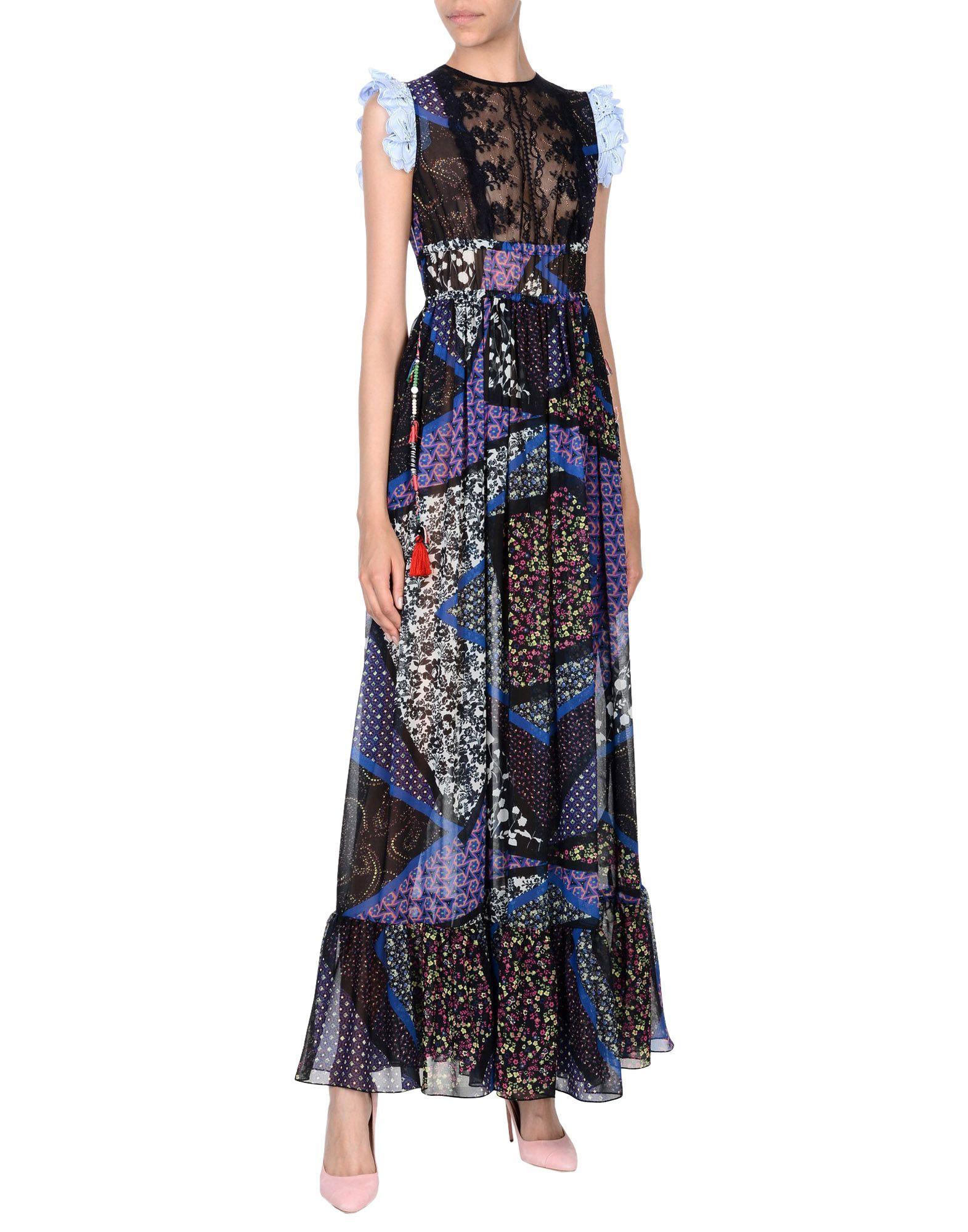 LUCILLE Длинное платье