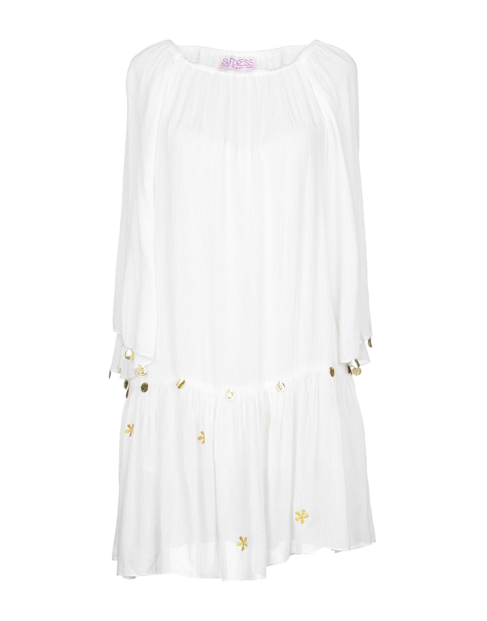 SUNDRESS Short Dress in White