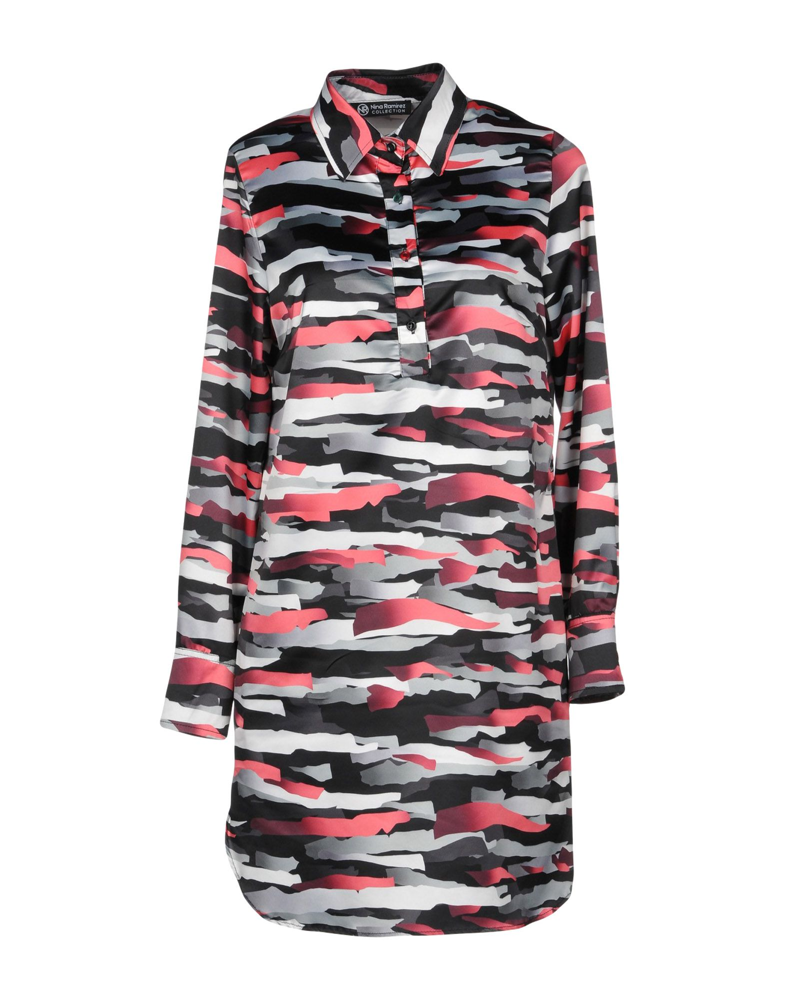 NINA RAMIREZ Collection Короткое платье худи print bar soos ramirez