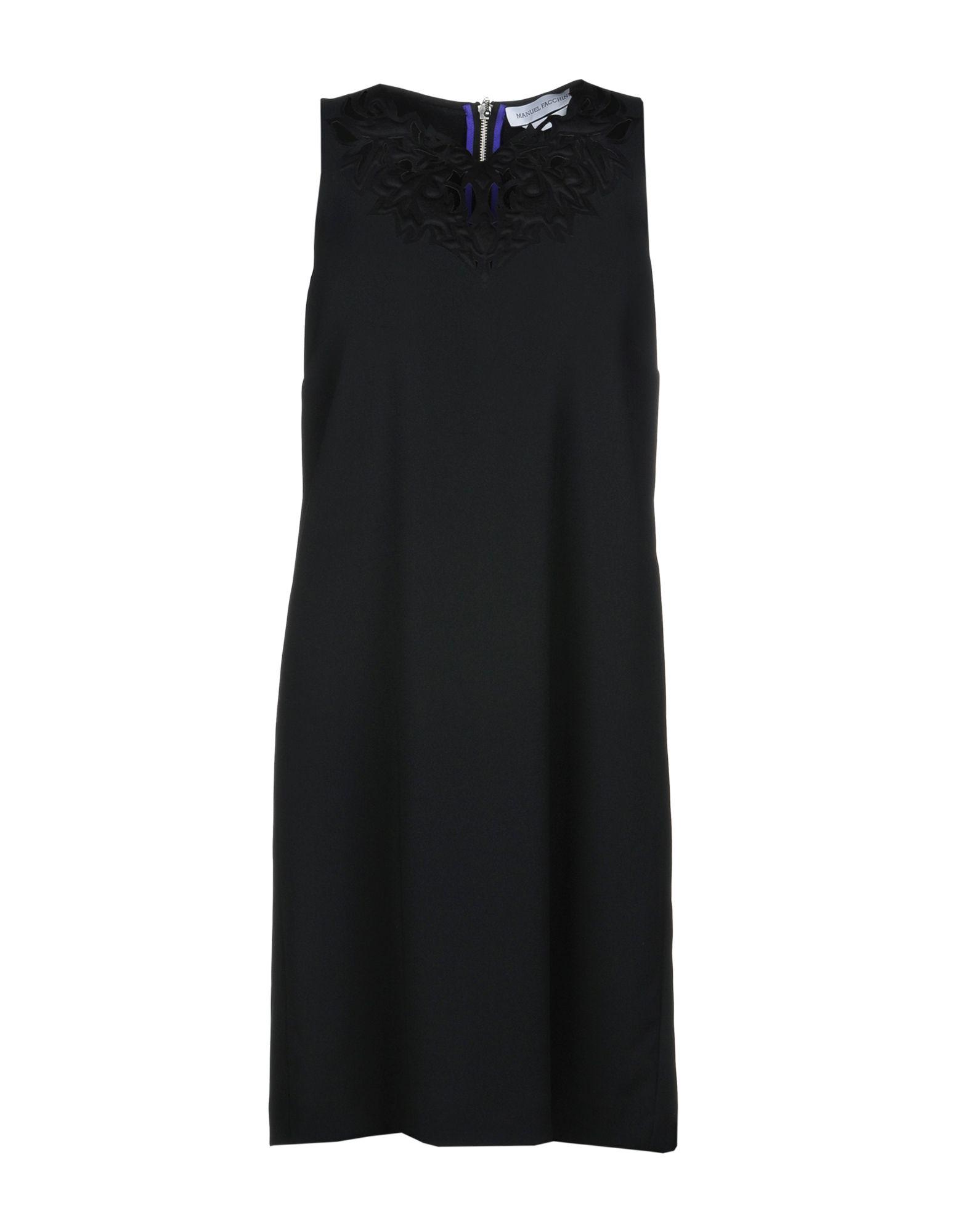 MANUEL FACCHINI Короткое платье manuel luciano короткое платье