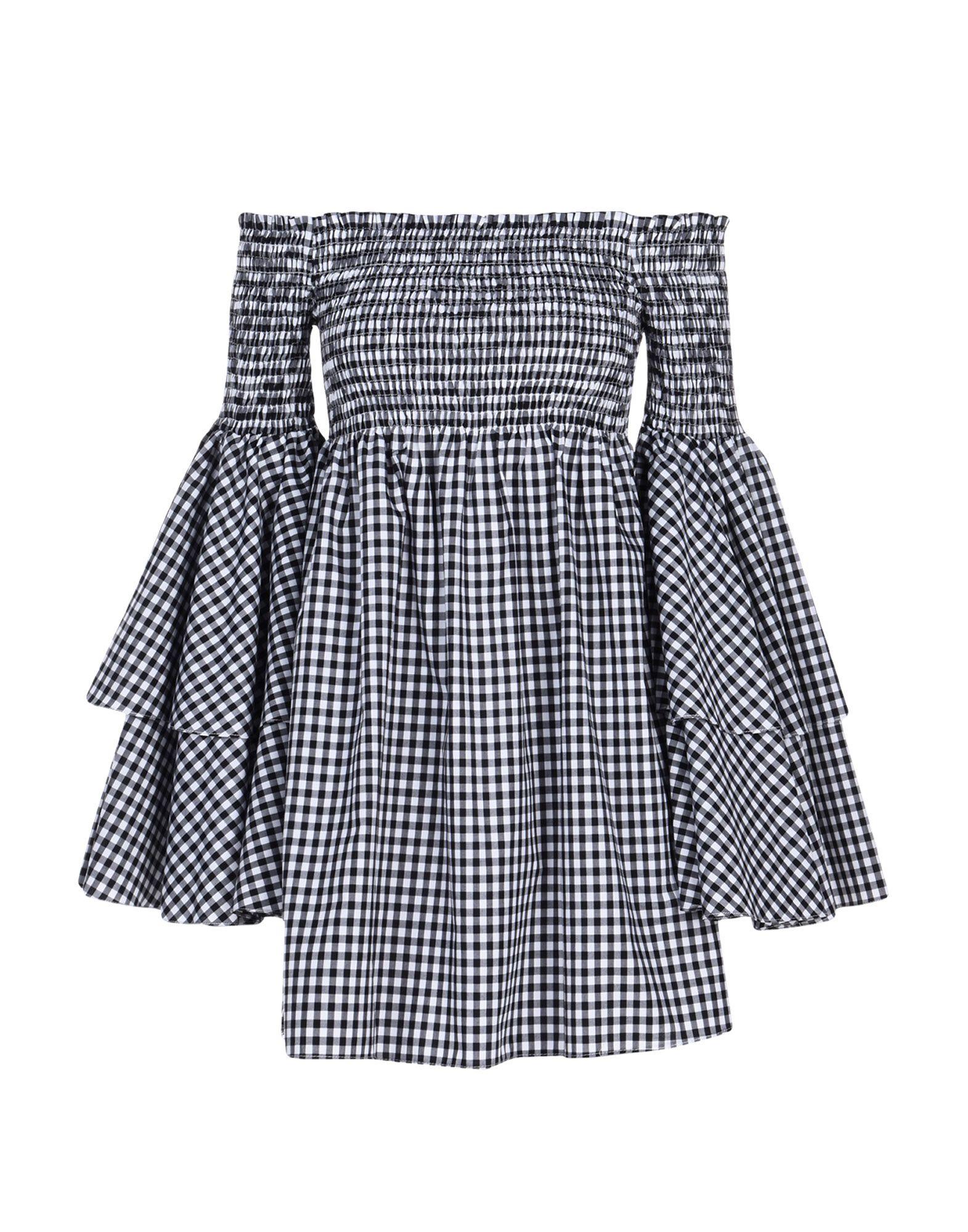CAROLINE CONSTAS Короткое платье caroline constas мини юбка