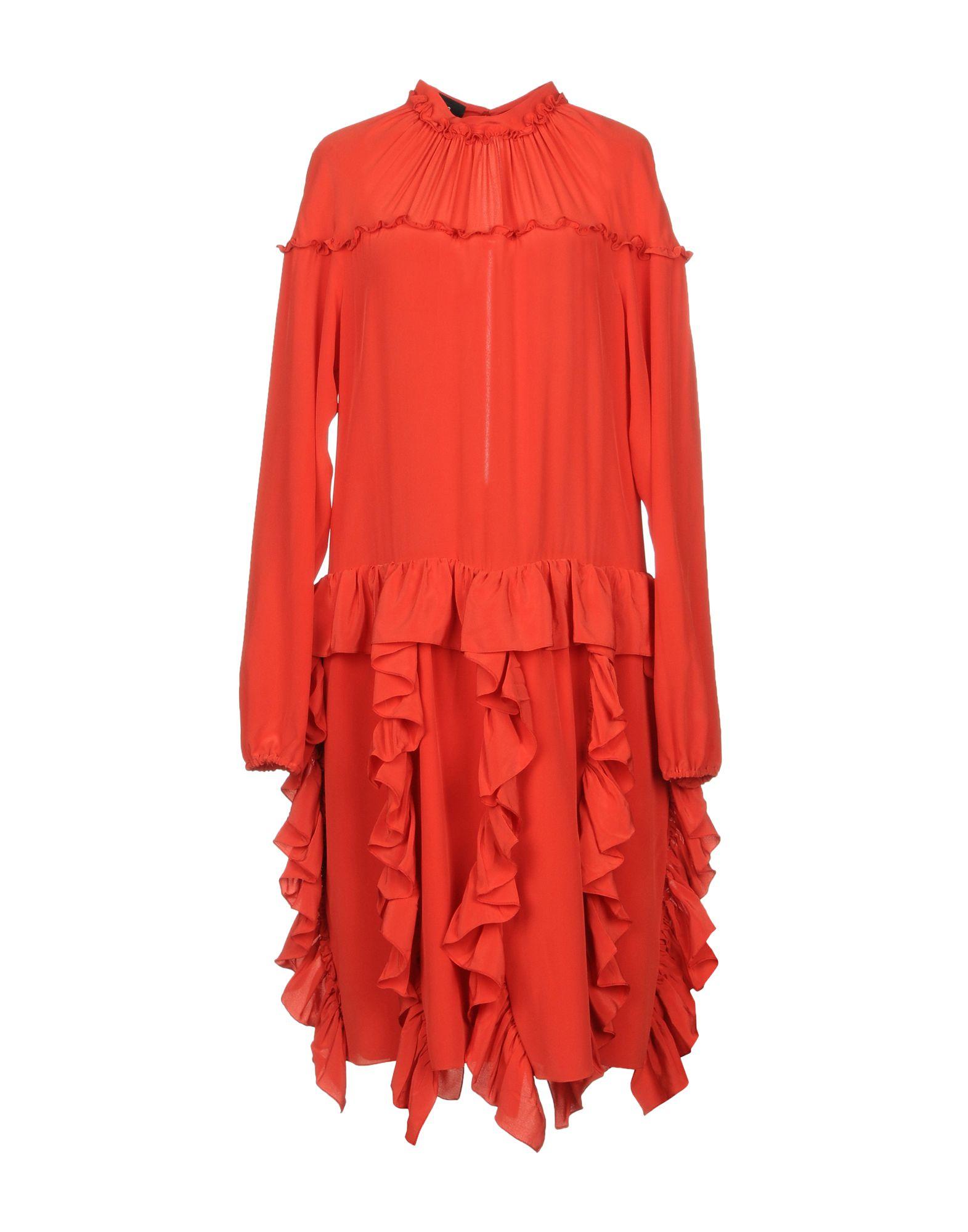 ROCHAS Платье до колена rochas шерстяное платье с кулиской