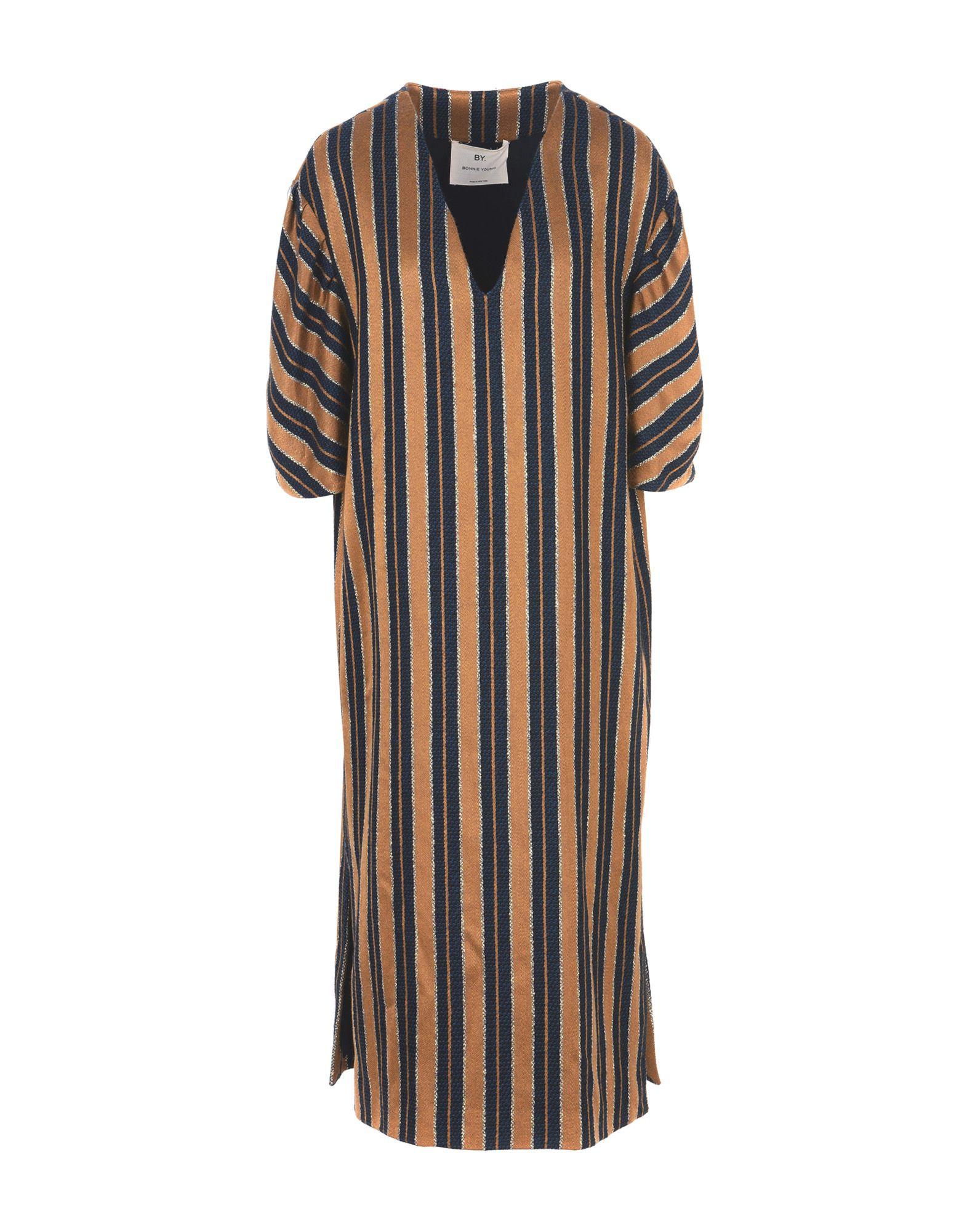 BY. BONNIE YOUNG Midi Dress in Ocher