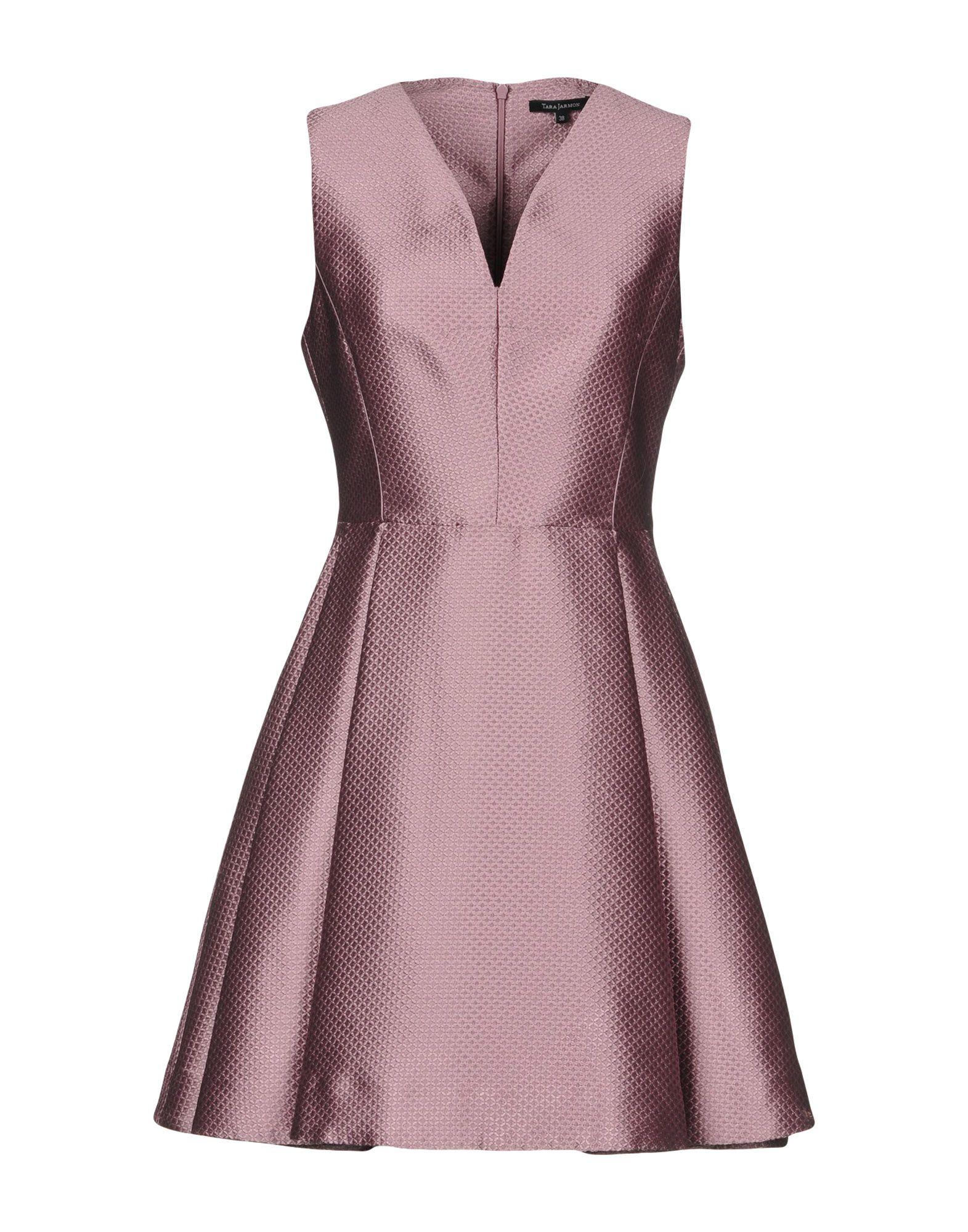 TARA JARMON Short Dress in Lilac