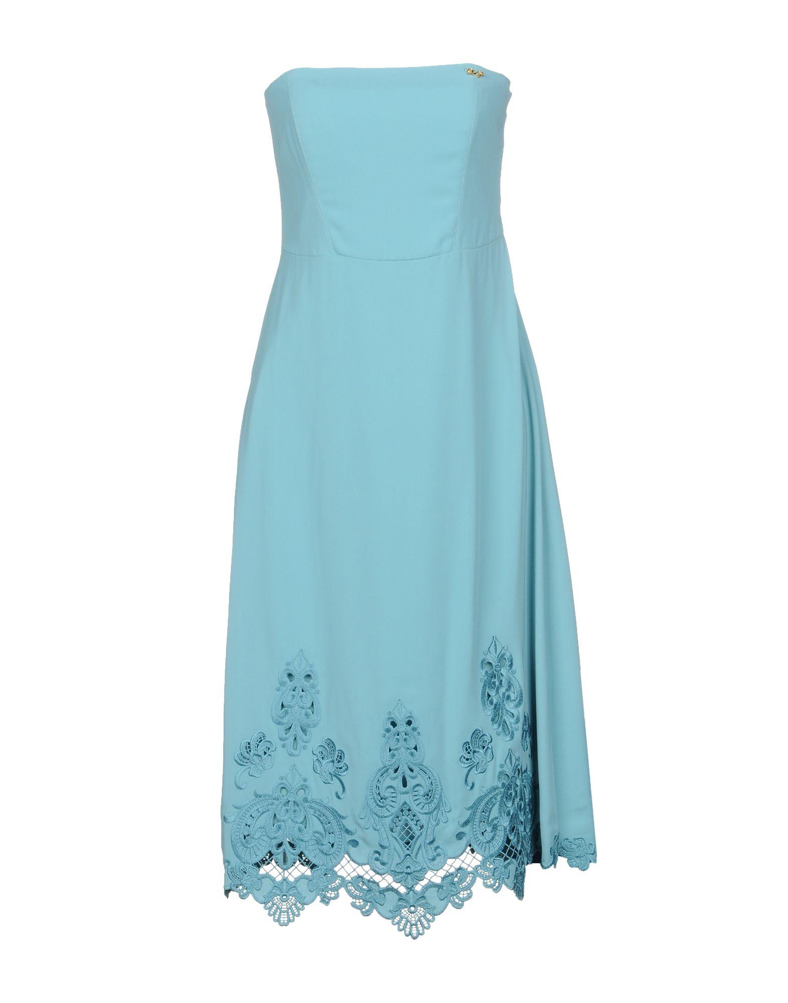 LES COCKTAILS DE LIU •JO Платье до колена les cocktails de liu •jo длинное платье