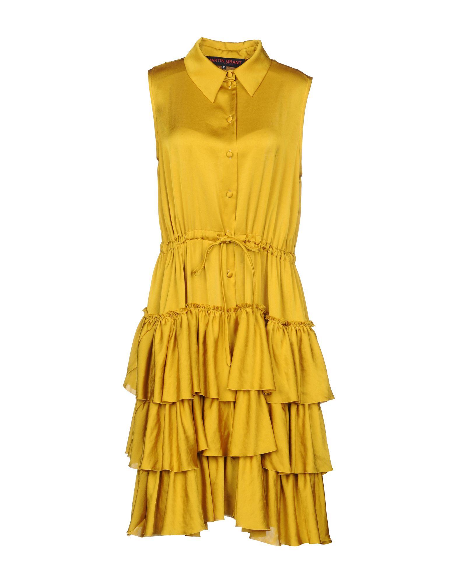 MARTIN GRANT Платье до колена martin grant длинное платье