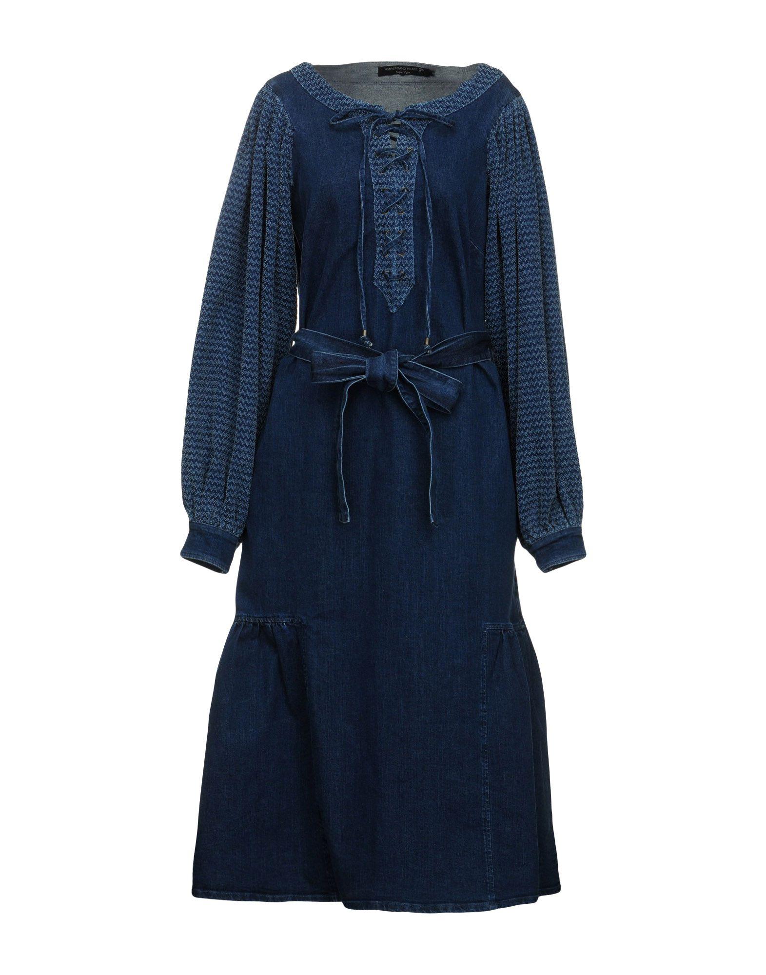 AMPERSAND HEART New York Платье длиной 3/4 ampersand heart new york джинсовая юбка