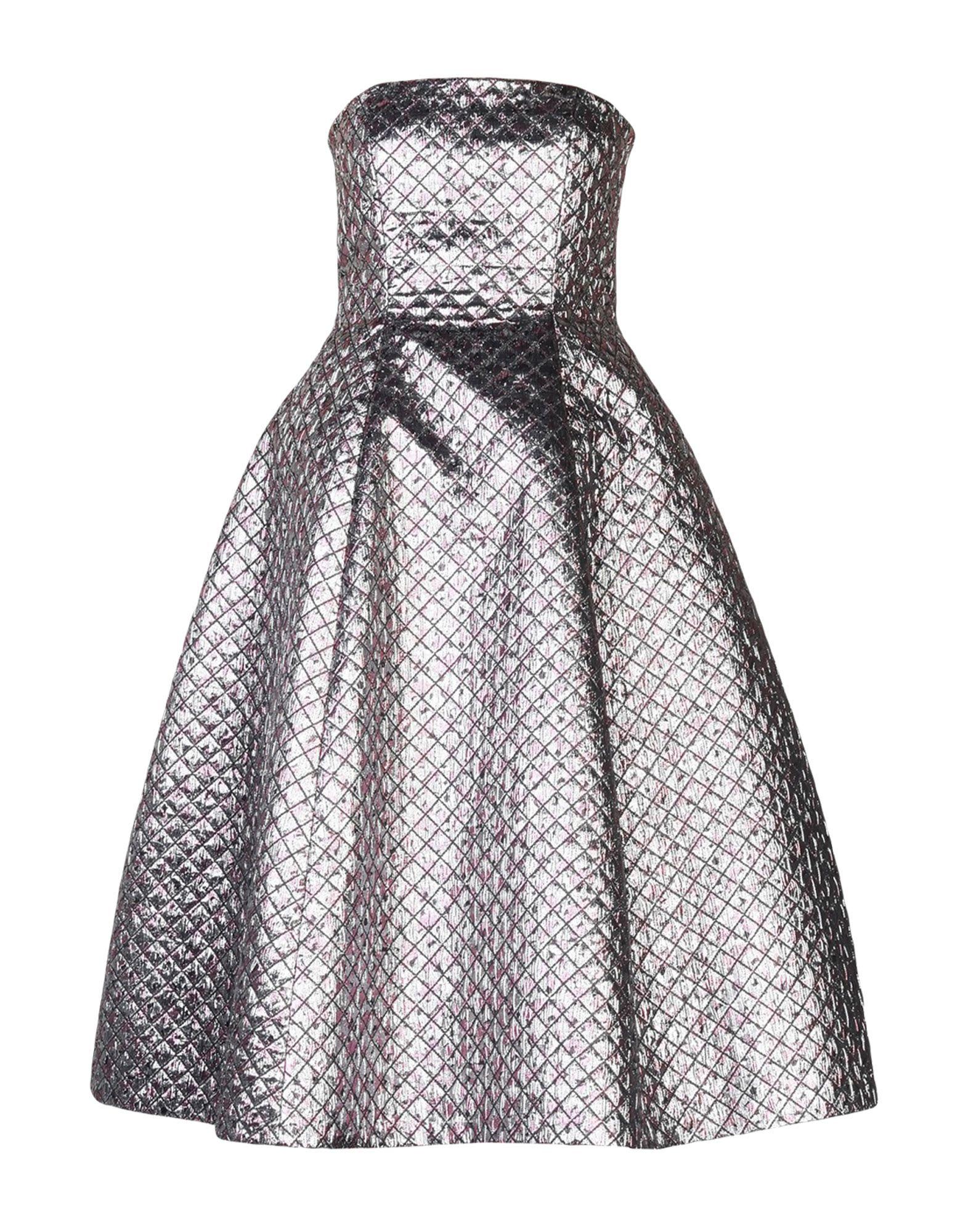 DANIELE CARLOTTA Knee-Length Dress in Silver