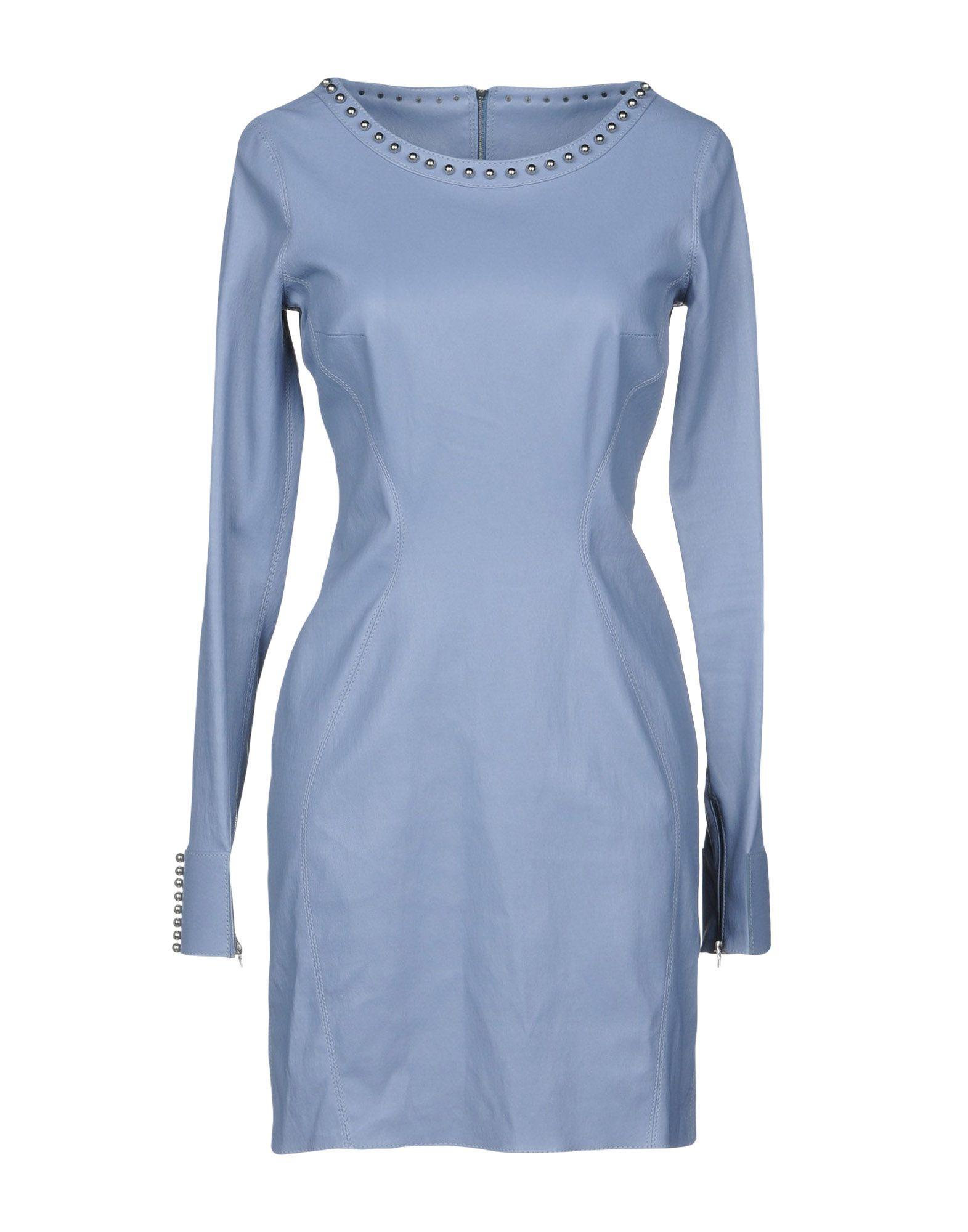 APHERO Short Dress in Sky Blue