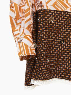Mini robe chemise imprimée