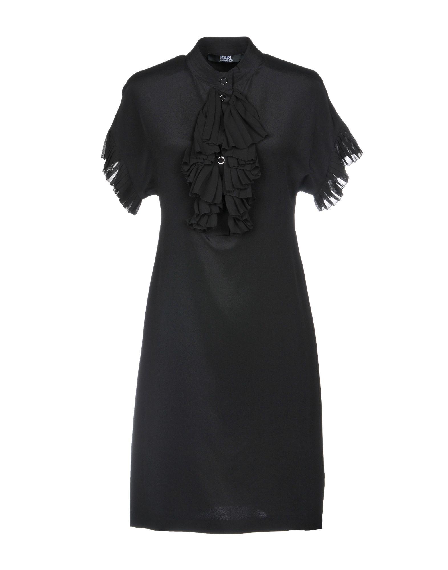 KARL LAGERFELD Короткое платье платье karl lagerfeld karl lagerfeld ka025ewoxv66