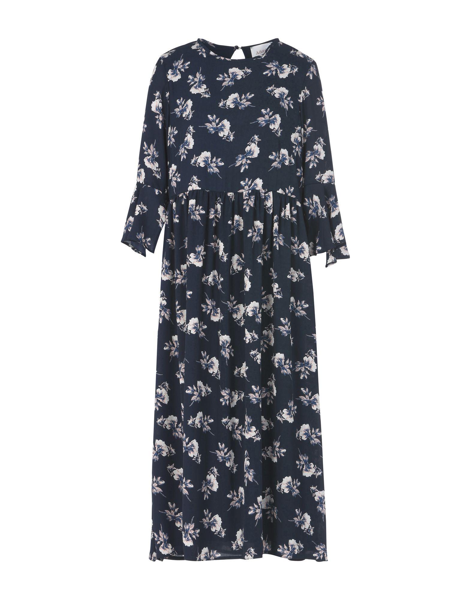 ADORÉE Платье длиной 3/4 boss black платье длиной 3 4