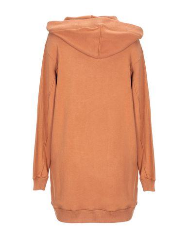 Фото 2 - Женское короткое платье JIJIL коричневого цвета