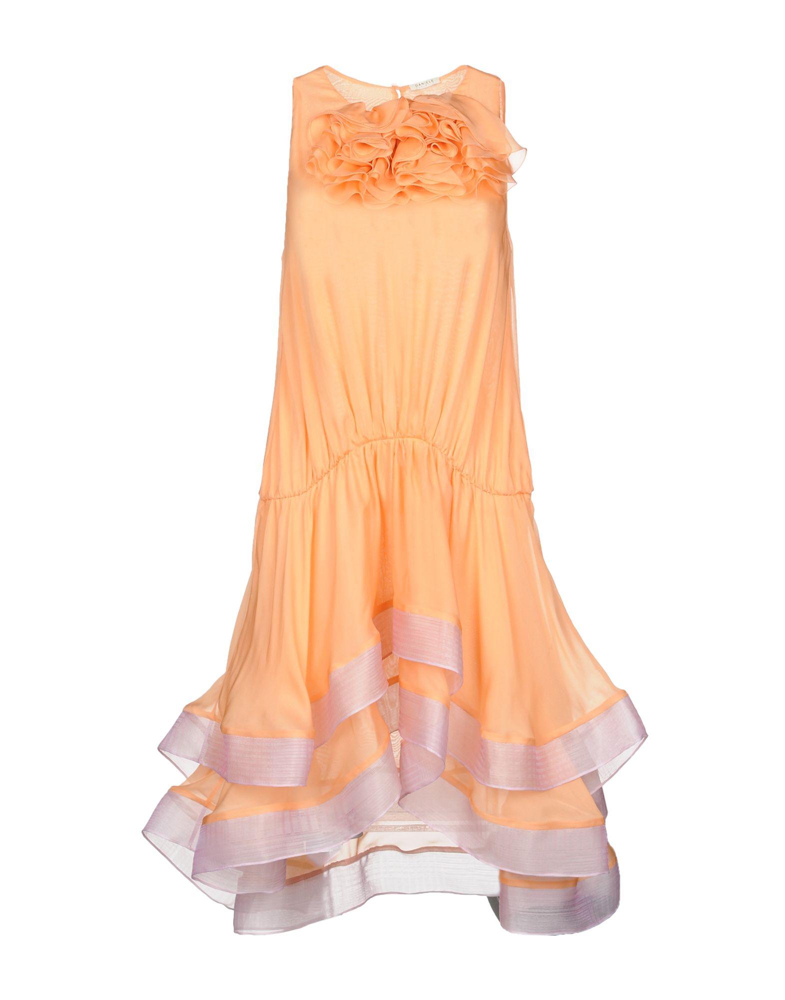 DANIELE CARLOTTA Short Dress in Apricot