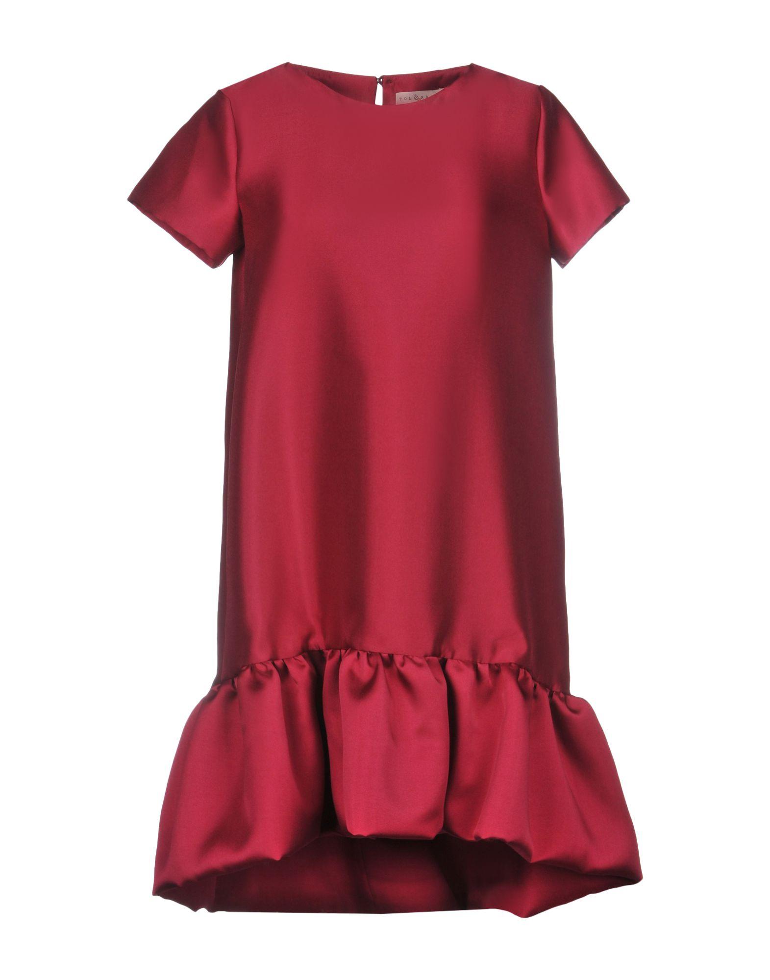 TOLÈRANCE Короткое платье цена 2017
