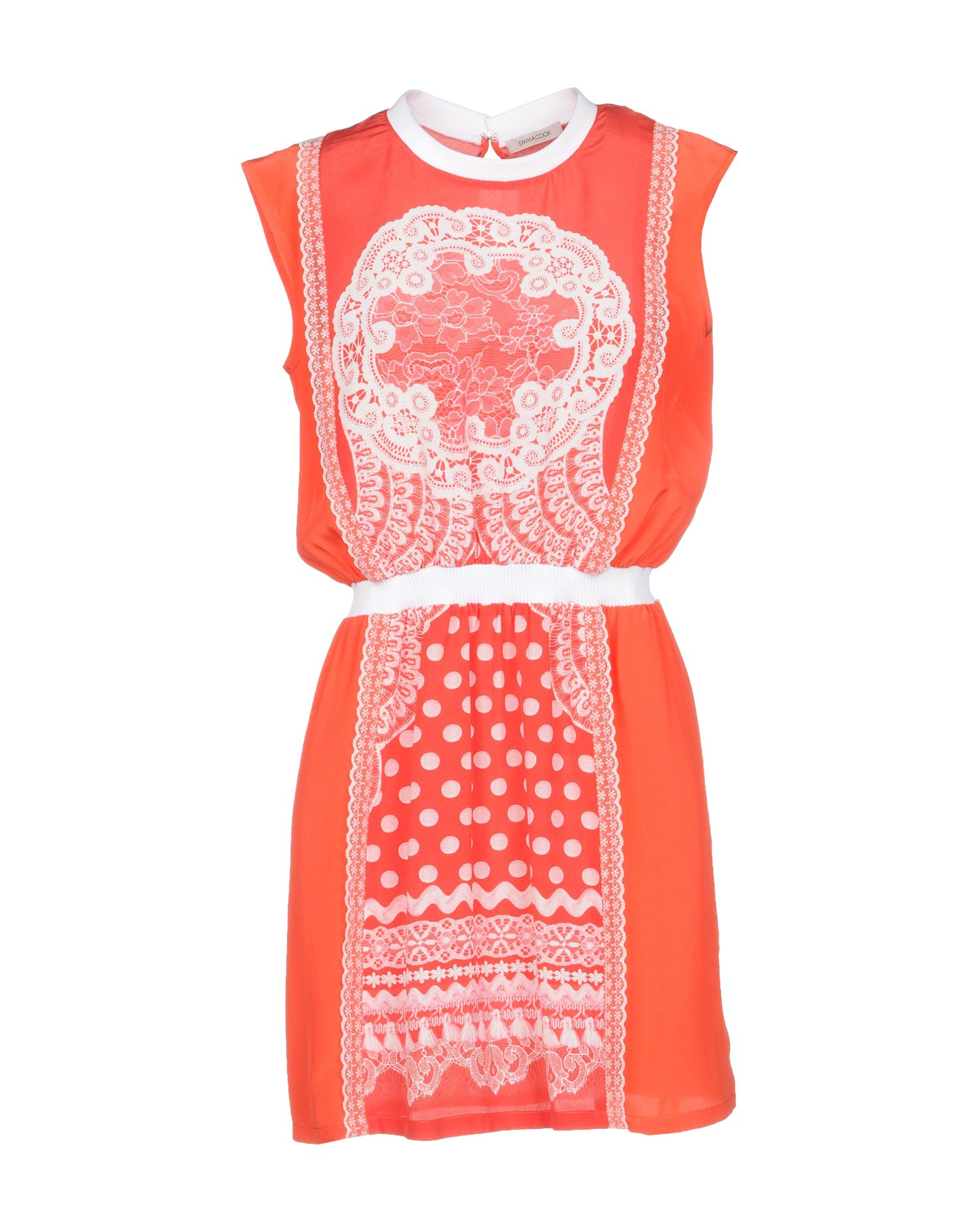 EMMA COOK Short Dress in Red