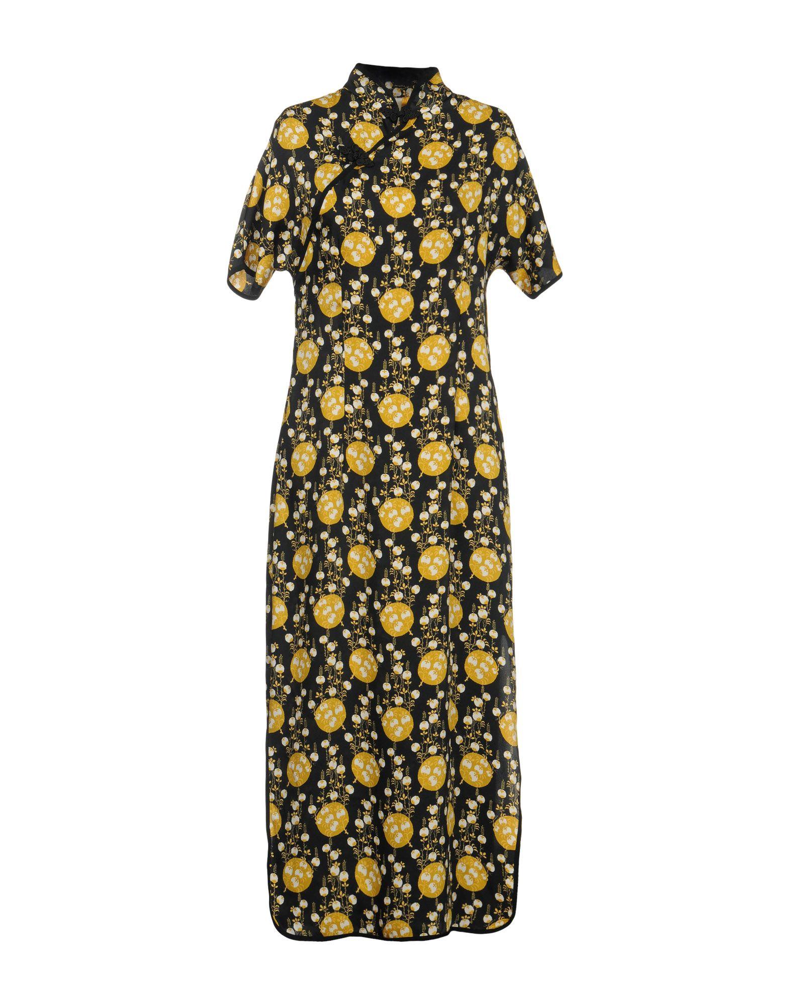 SOUVENIR Длинное платье souvenir джинсовая рубашка