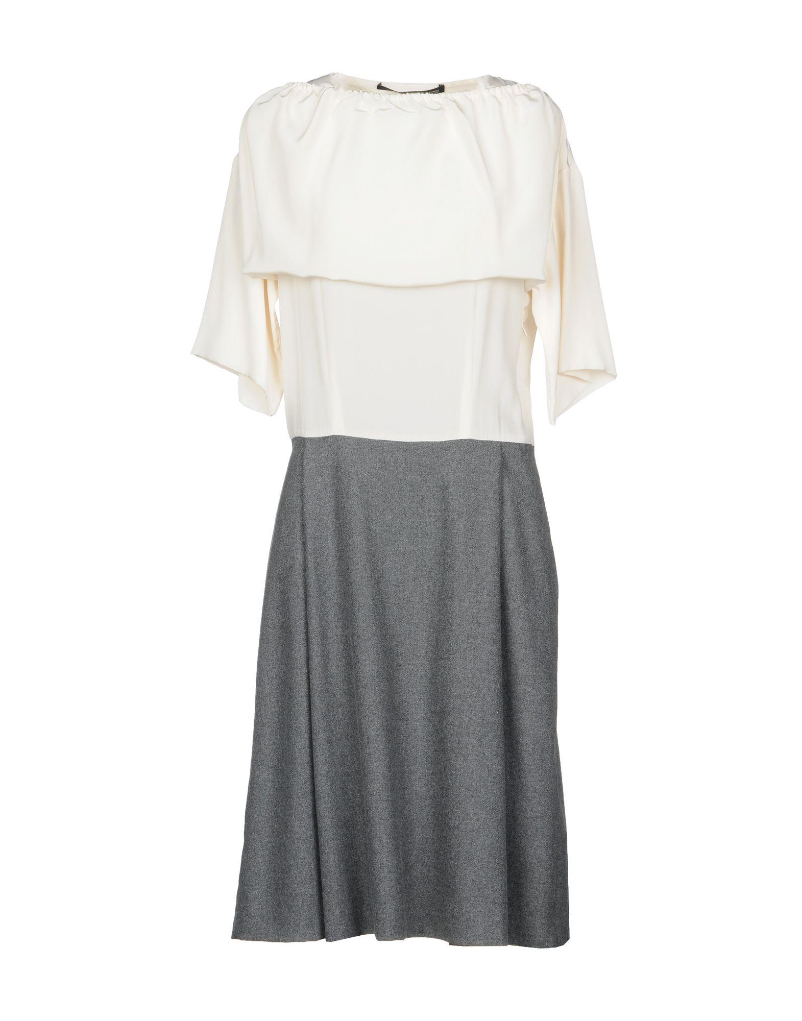 MAURIZIO PECORARO Платье до колена maurizio pecoraro юбка длиной 3 4