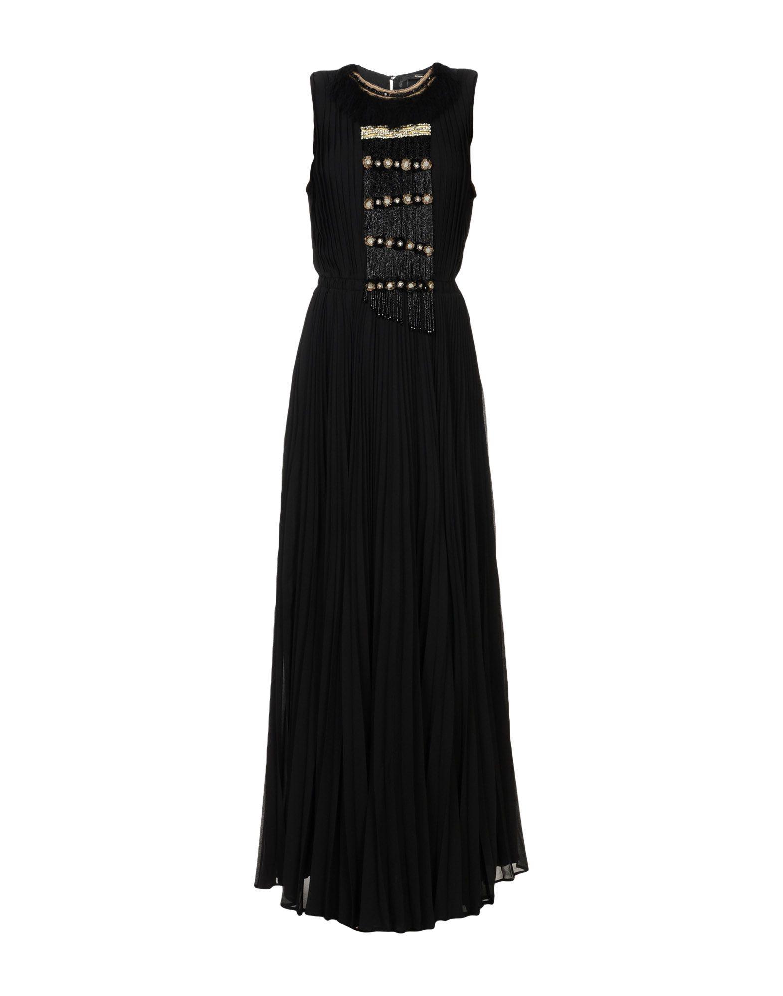 MAURIZIO PECORARO Длинное платье цена 2017