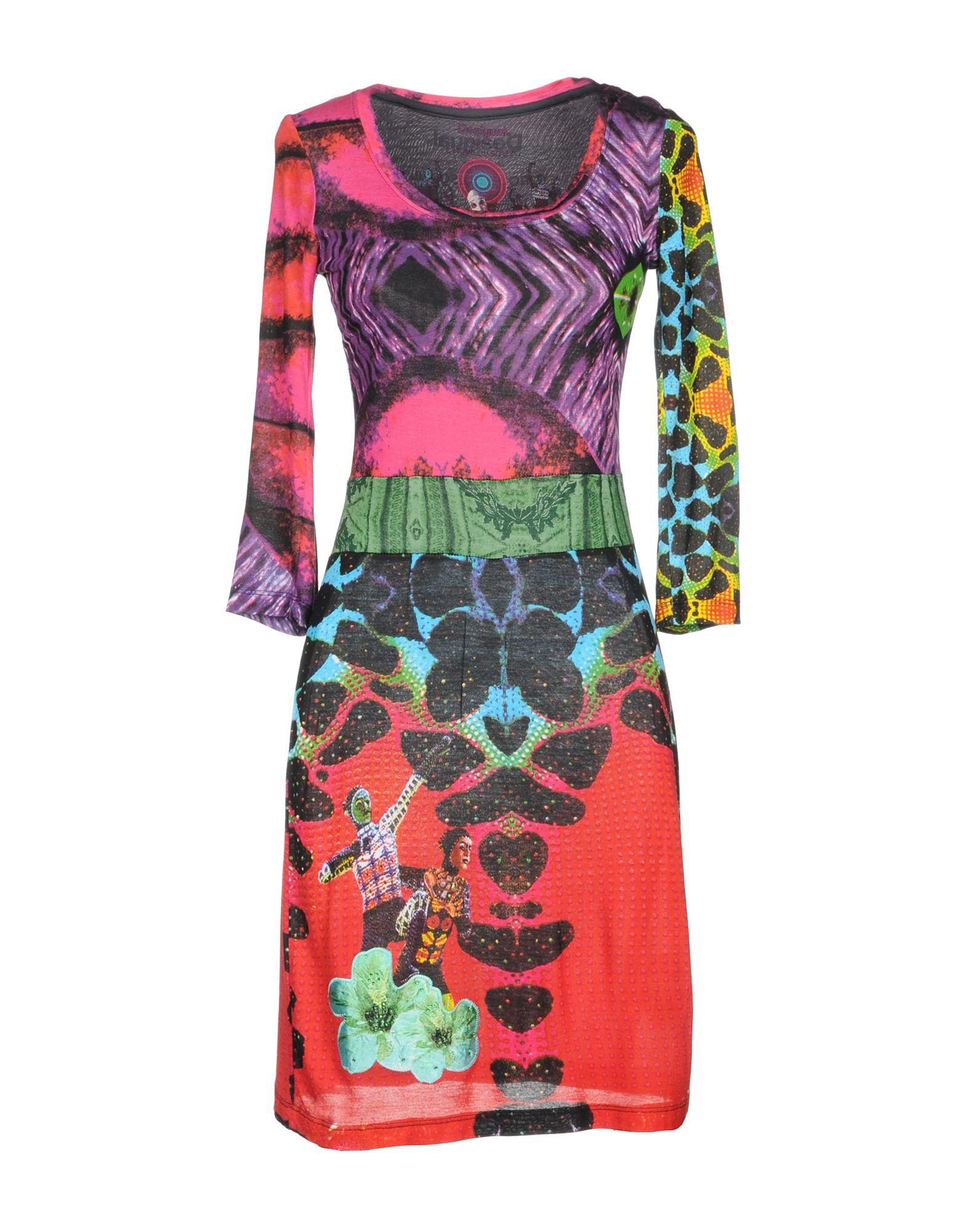 DESIGUAL CIRQUE DU SOLEIL Короткое платье